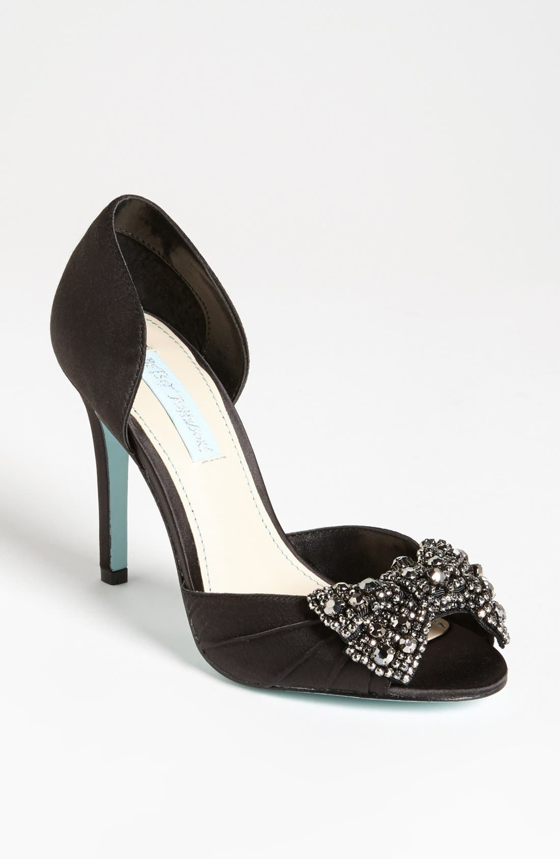 Alternate Image 1 Selected - Blue by Betsey Johnson 'Gown' Sandal