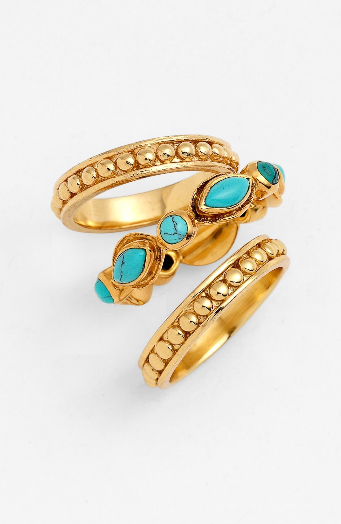 Main Image - Melinda Maria 'Jesse' Stackable Rings (Set of 3) (Nordstrom Exclusive)