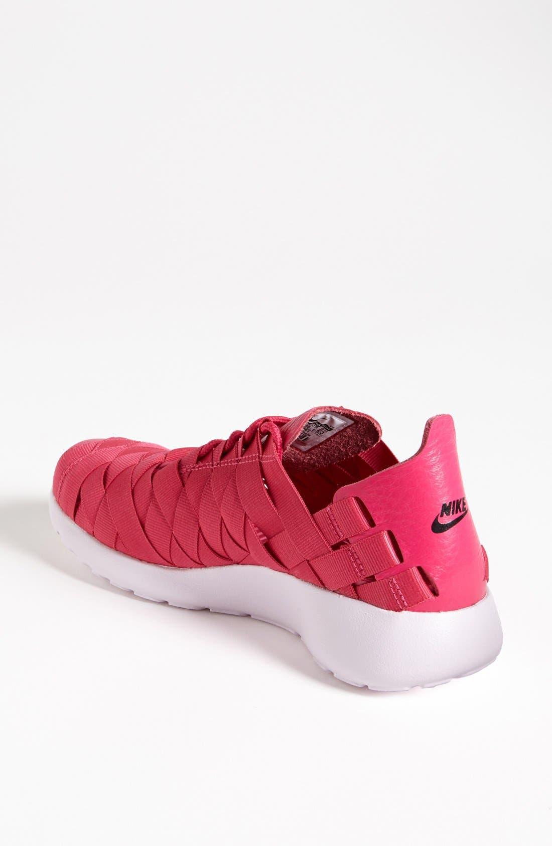 Alternate Image 2  - Nike 'Roshe Run' Woven Sneaker (Women)