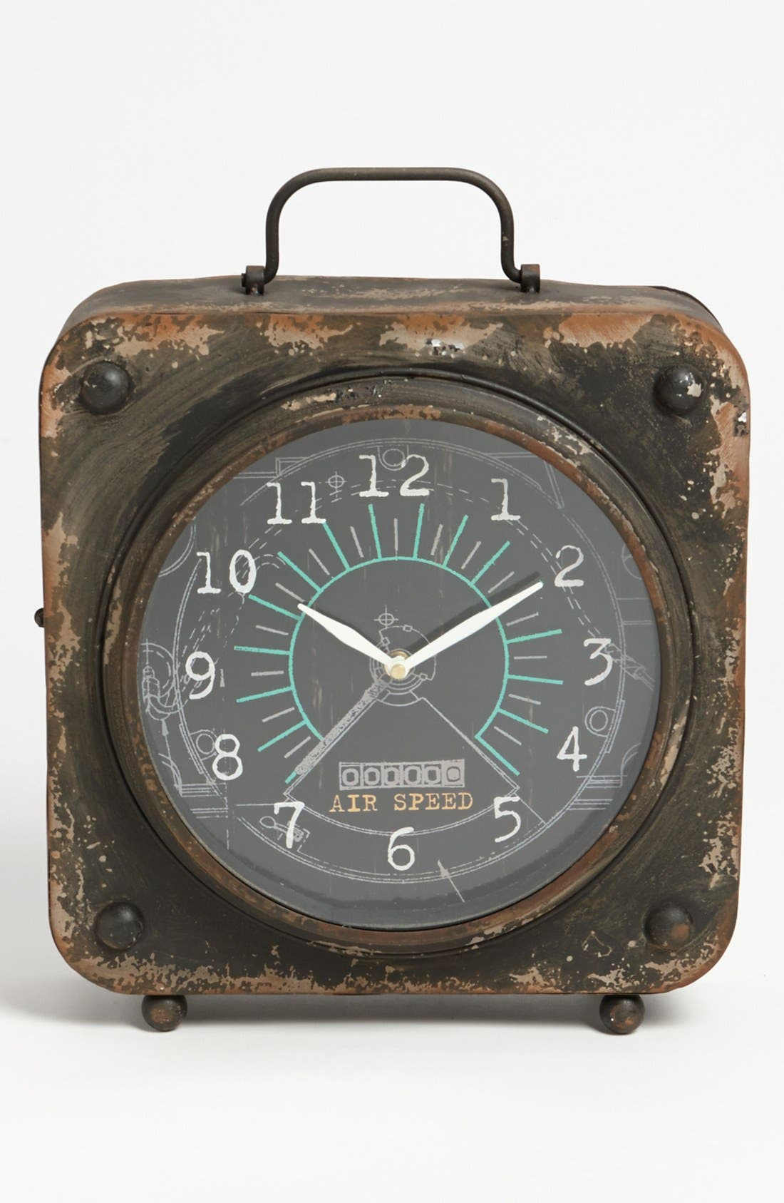 Alternate Image 1 Selected - Vintage Iron Table Clock