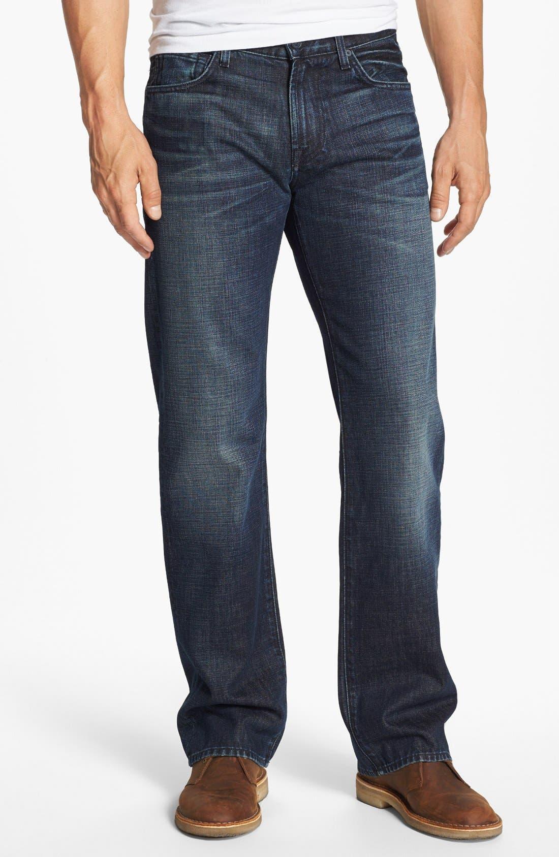 Alternate Image 2  - 7 For All Mankind® 'Austyn' Straight Leg Jeans (Porter Mist)
