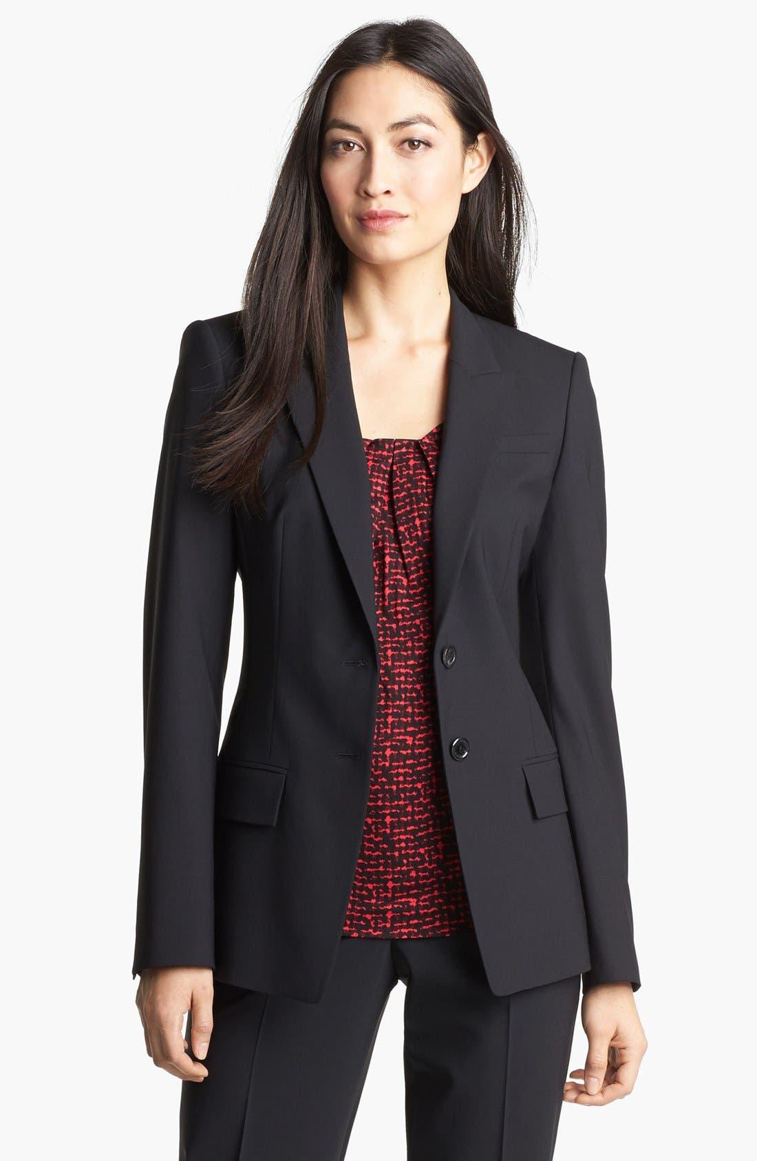 Alternate Image 1 Selected - BOSS HUGO BOSS 'Juicyda' Jacket