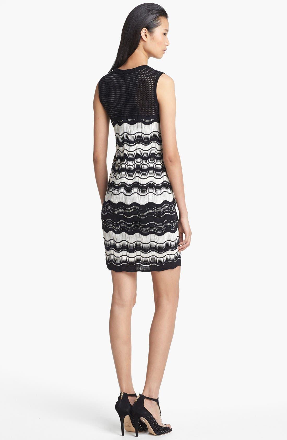 Alternate Image 2  - M Missoni Greek Key Stripe Dress