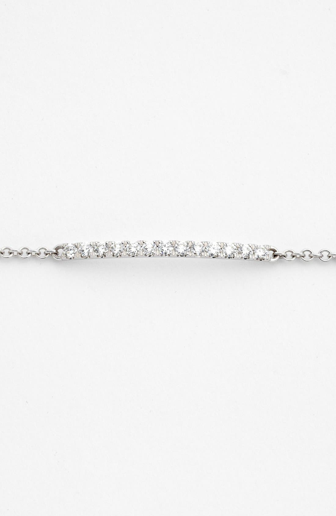 Alternate Image 2  - Bony Levy 'Stick' Pavé Diamond Bar Bracelet (Nordstrom Exclusive)