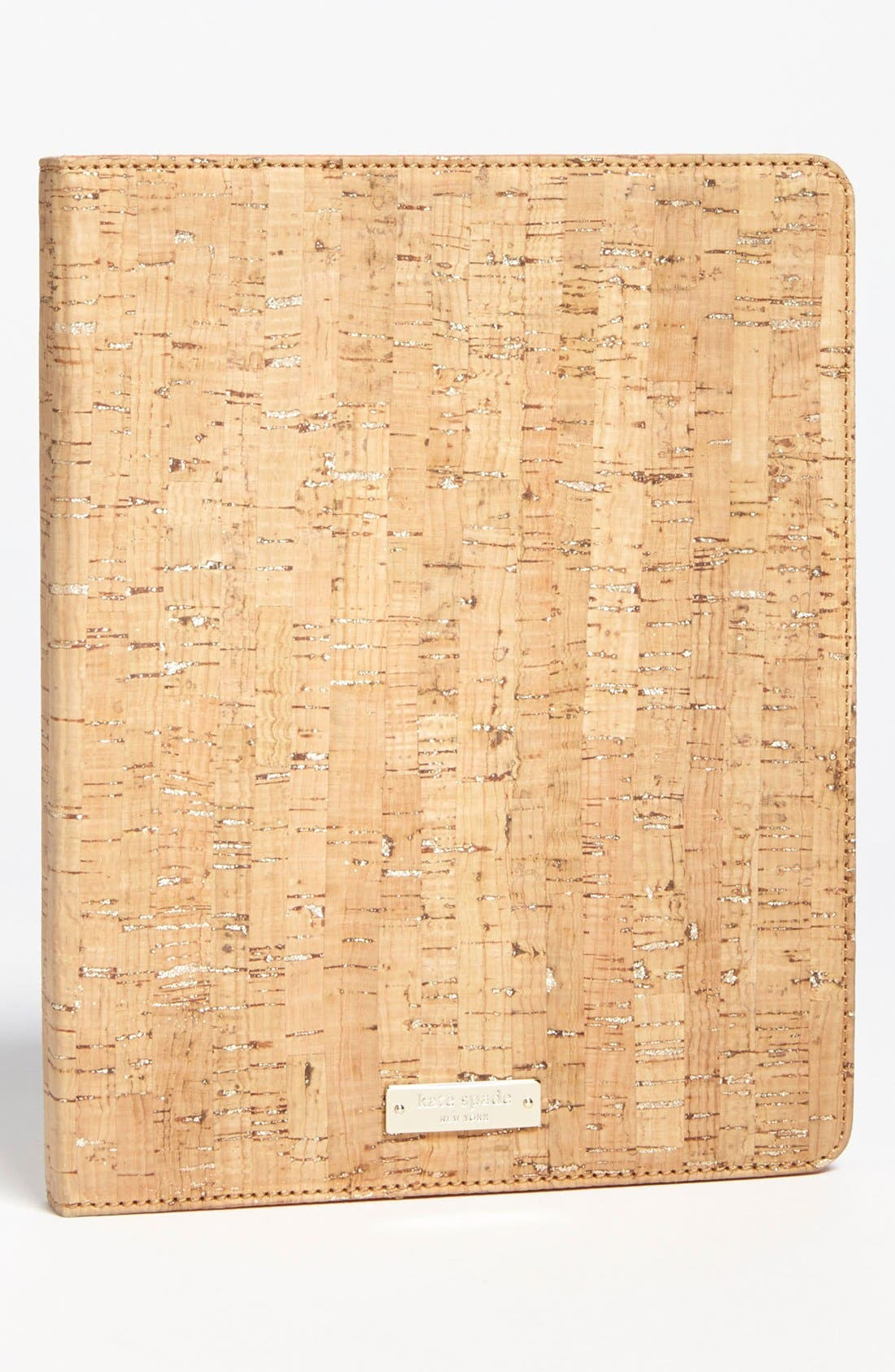 Alternate Image 1 Selected - kate spade new york 'summer cork' iPad 2 & 3 folio
