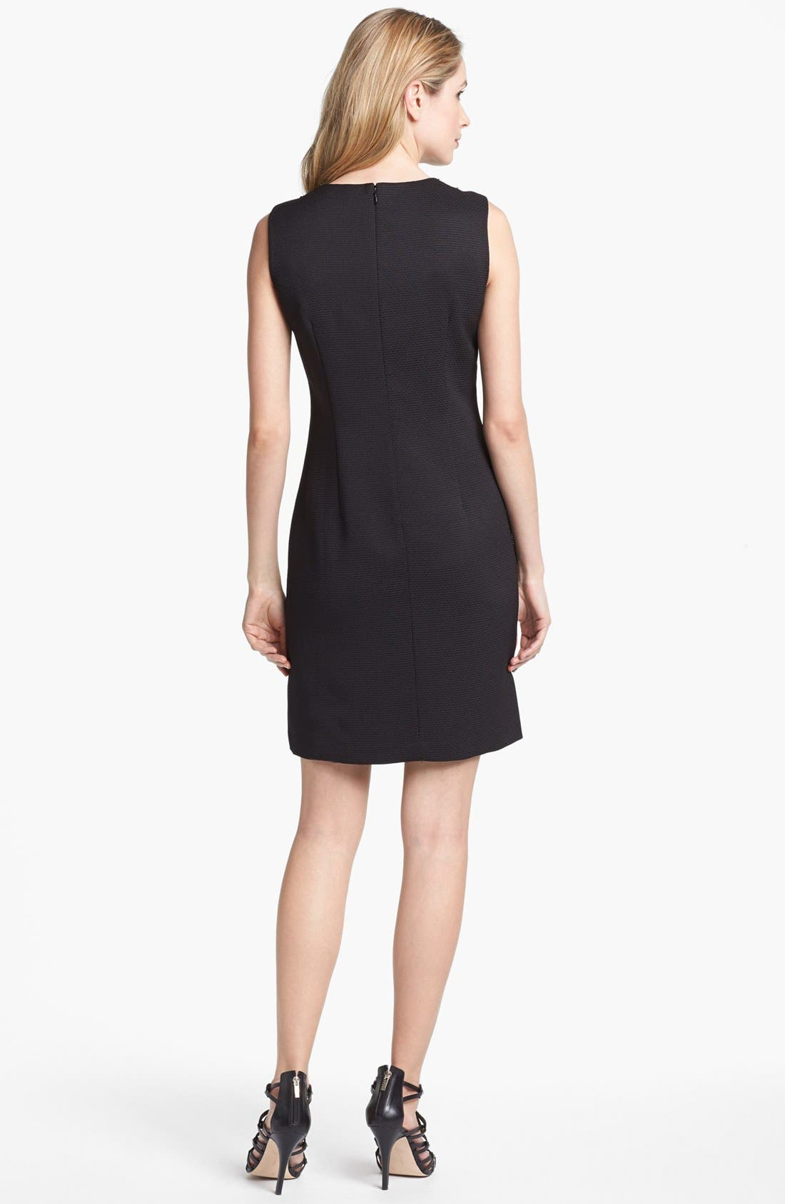 Alternate Image 2  - Ellen Tracy Sleeveless Pique Shift