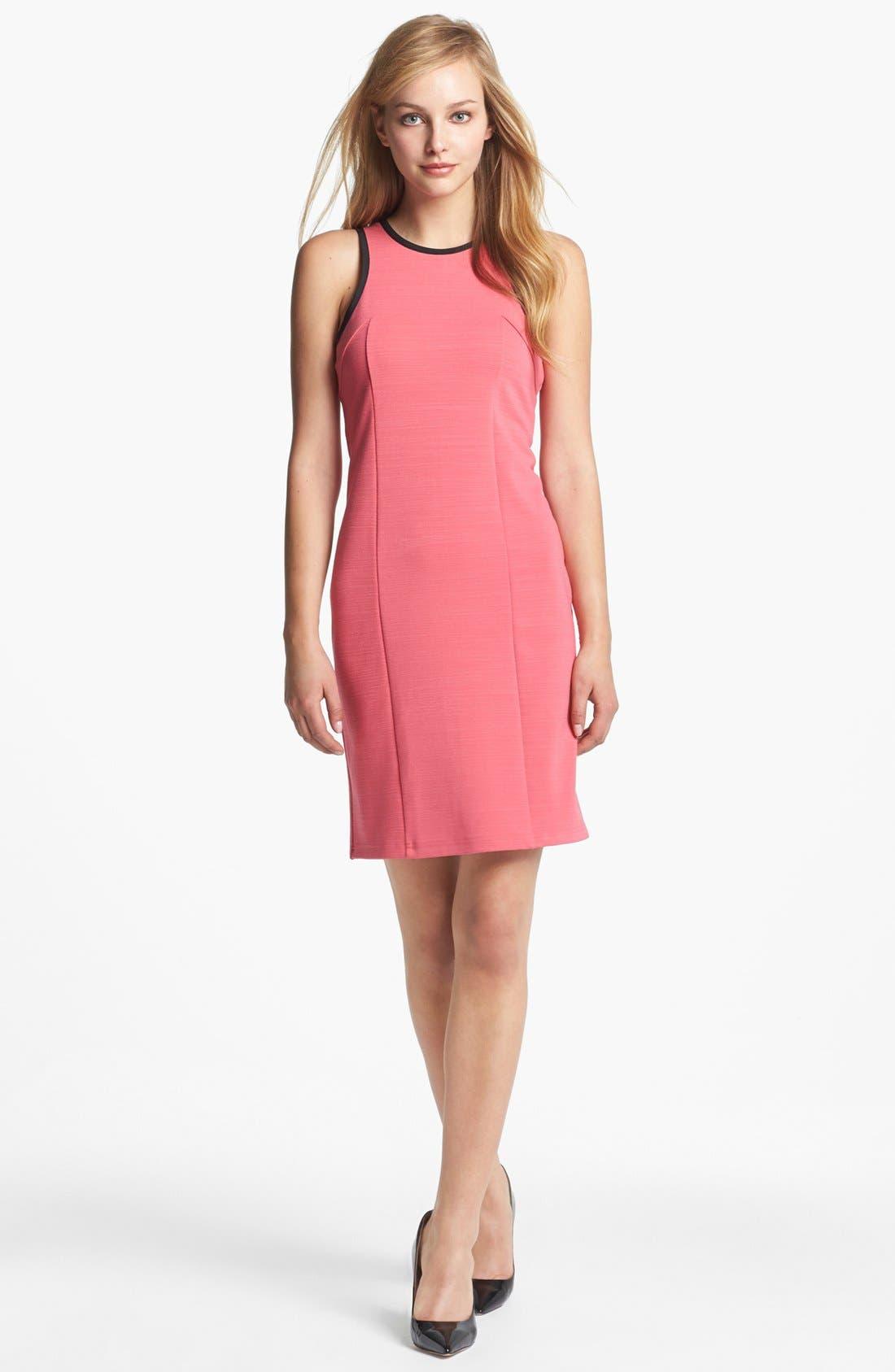 Main Image - Kenneth Cole New York 'Elysia' Cutaway Sheath Dress