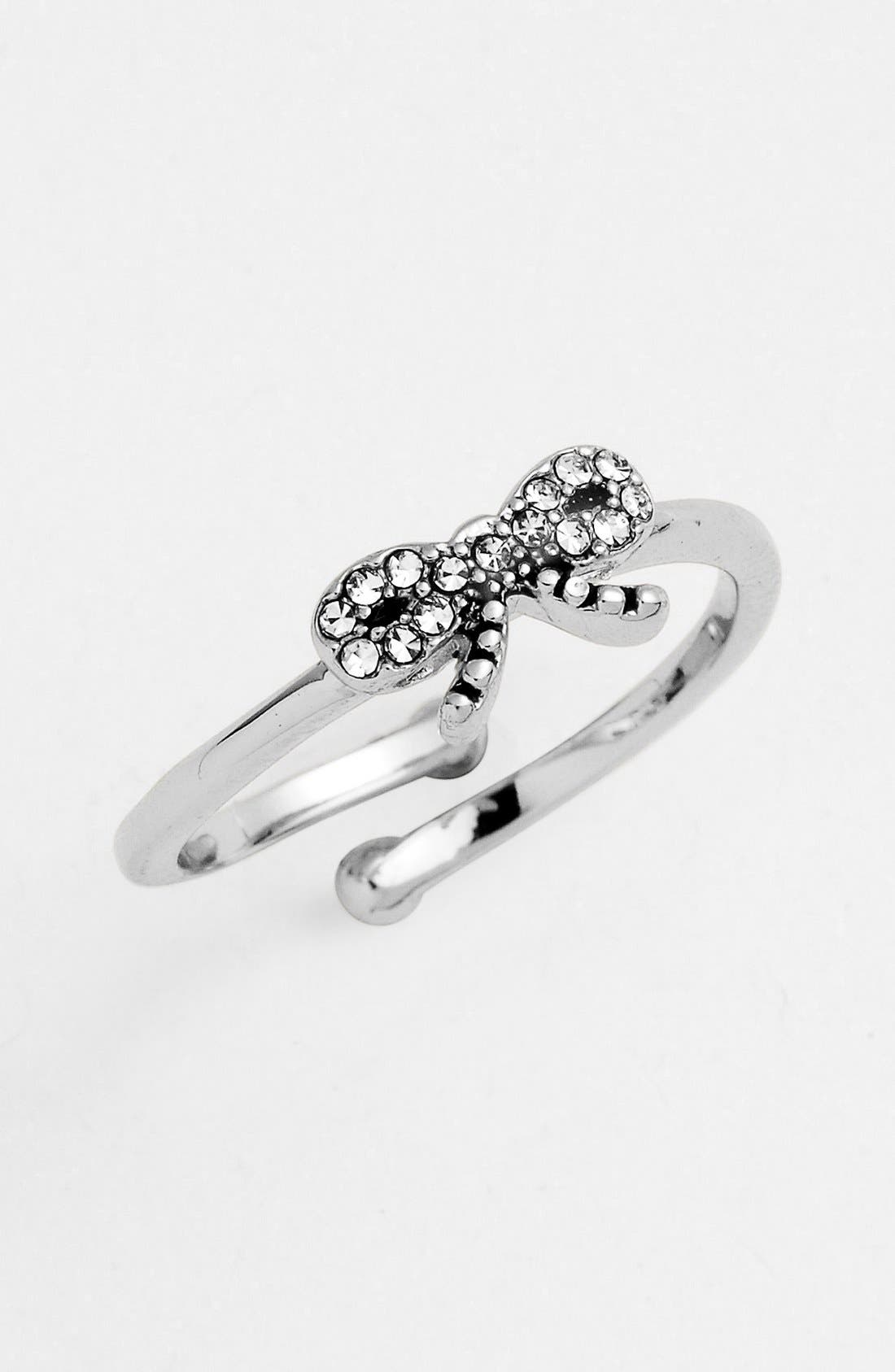 Main Image - Ariella Collection Bow Ring (Nordstrom Exclusive)