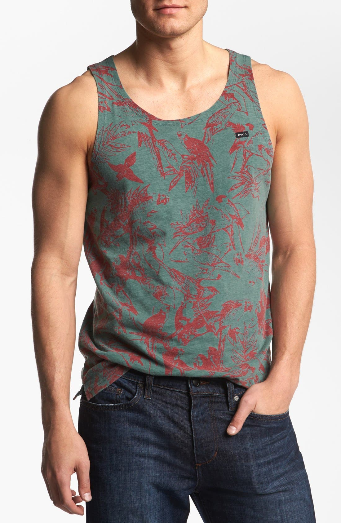 Alternate Image 1 Selected - RVCA 'Squawker' Tank Top