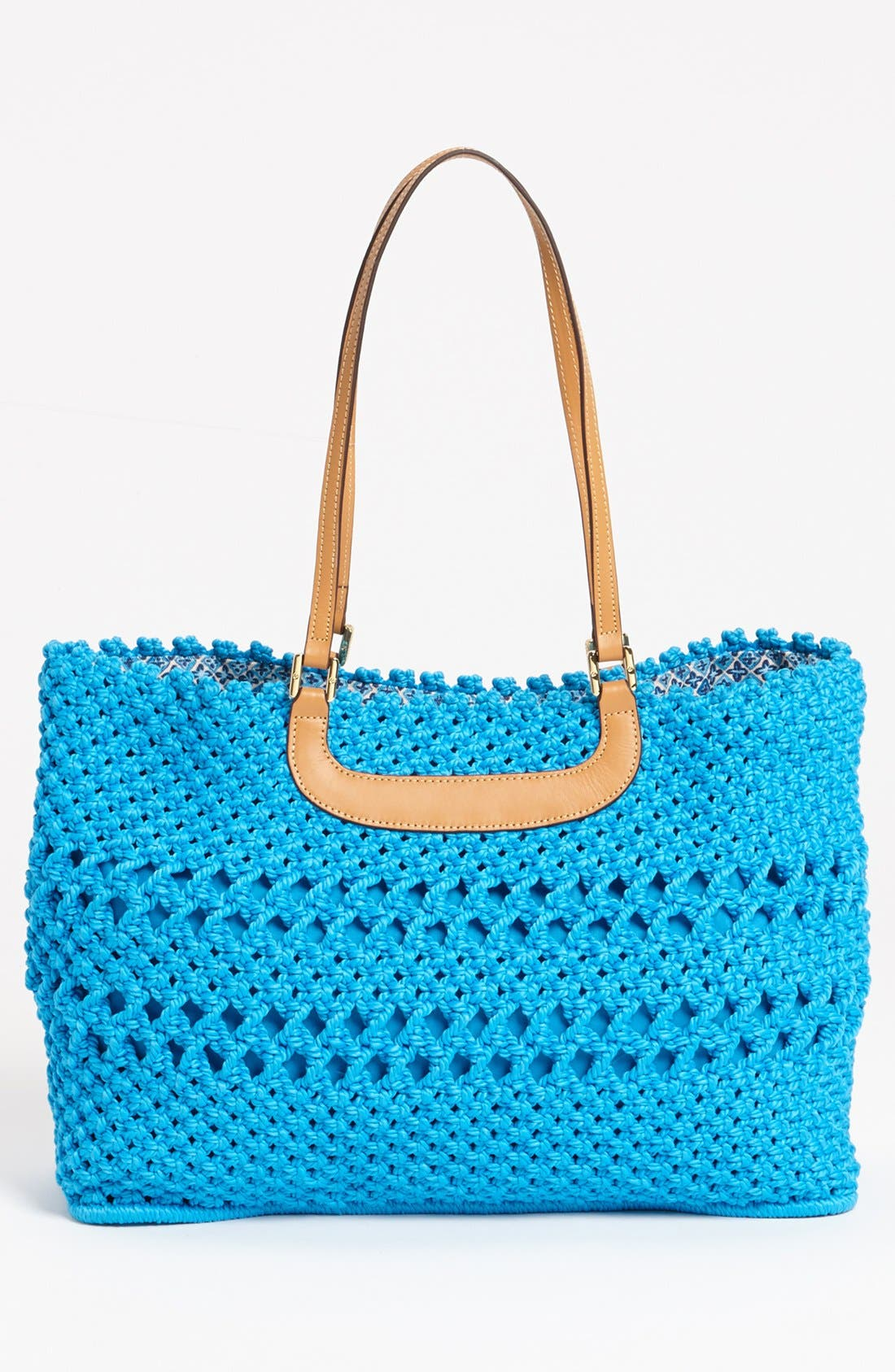 Alternate Image 4  - Tory Burch 'Dawson - Large' Crocheted Tote