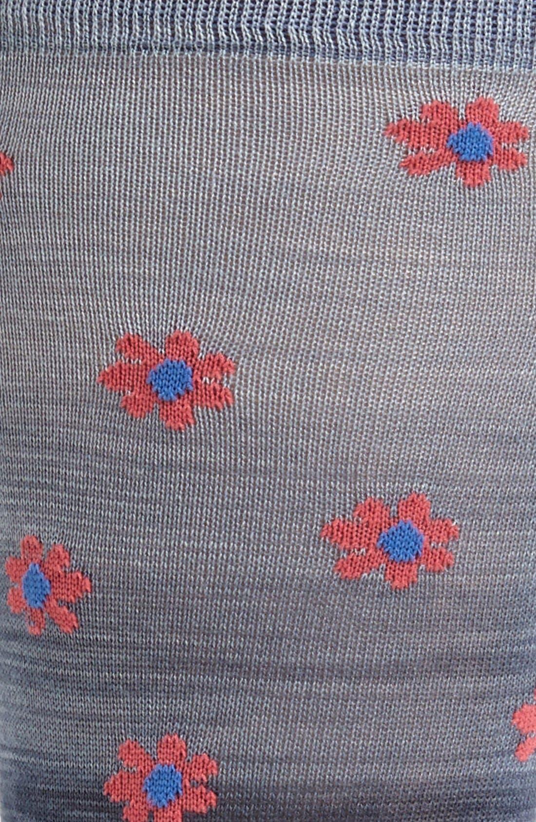 Alternate Image 2  - Marcoliani 'Delave' Floral Socks