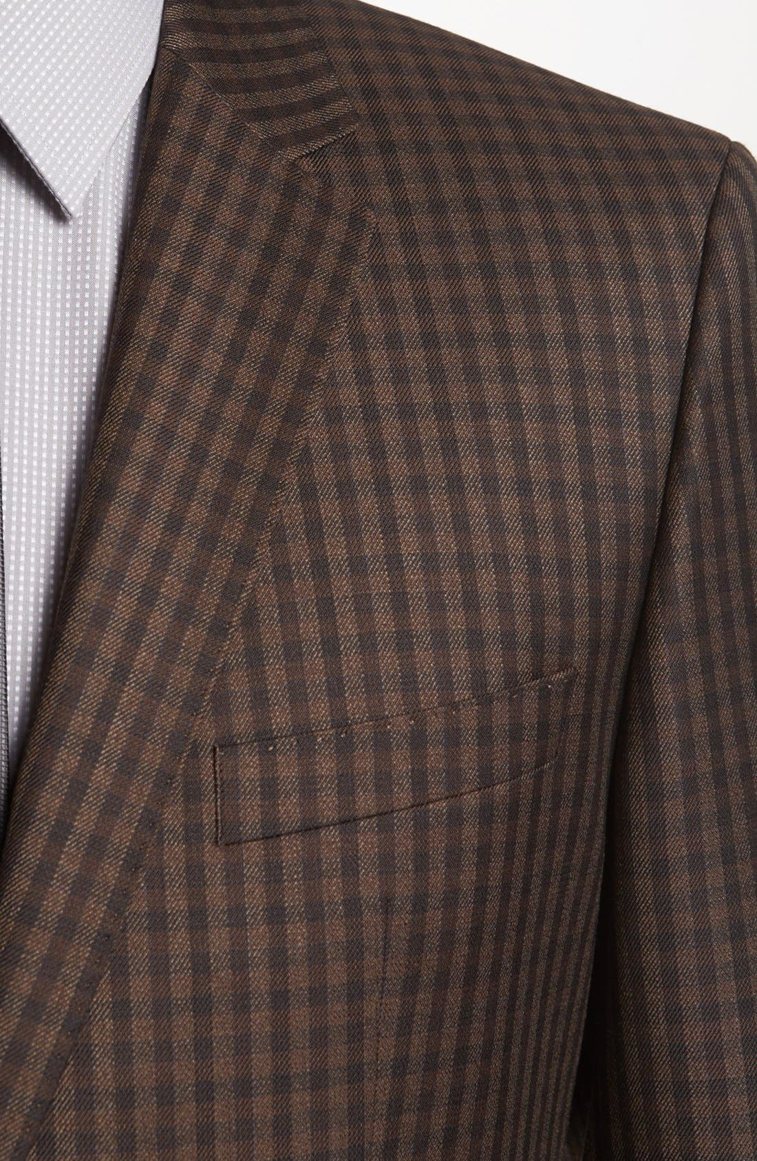 Alternate Image 2  - BOSS HUGO BOSS 'The Smith' Trim Fit Check Sportcoat