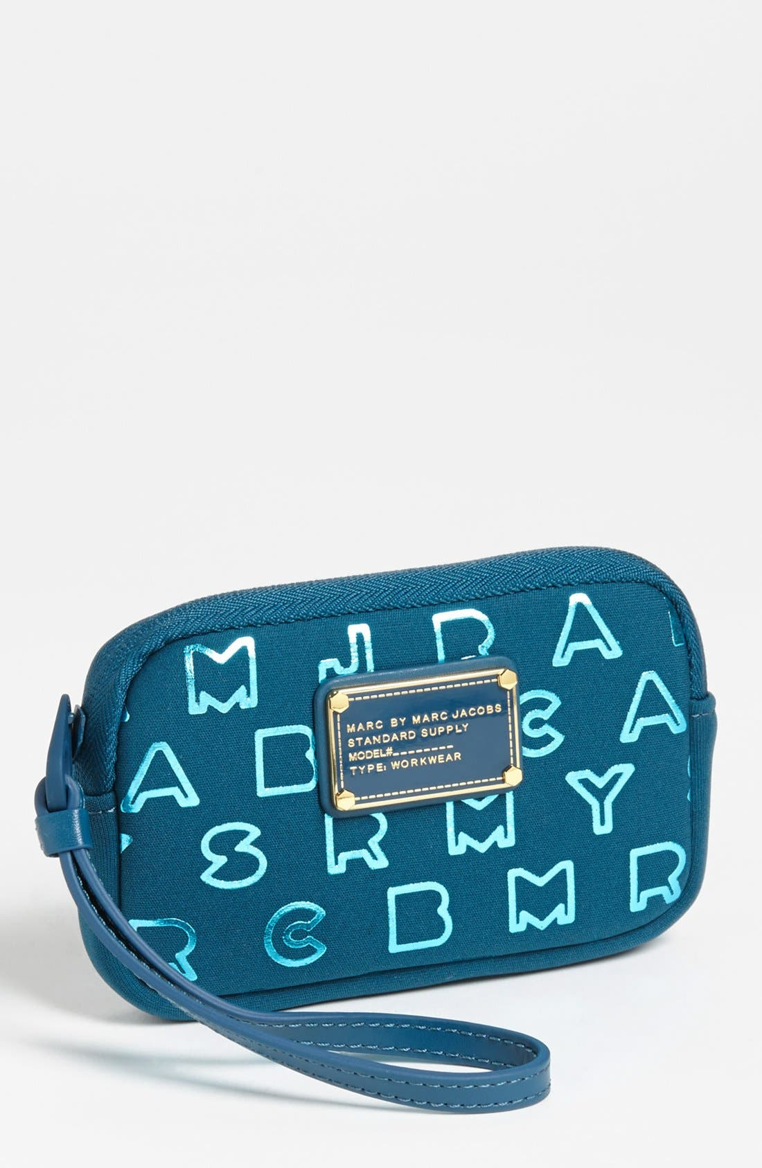 Alternate Image 1 Selected - MARC BY MARC JACOBS 'Dreamy Logo' Phone Wristlet