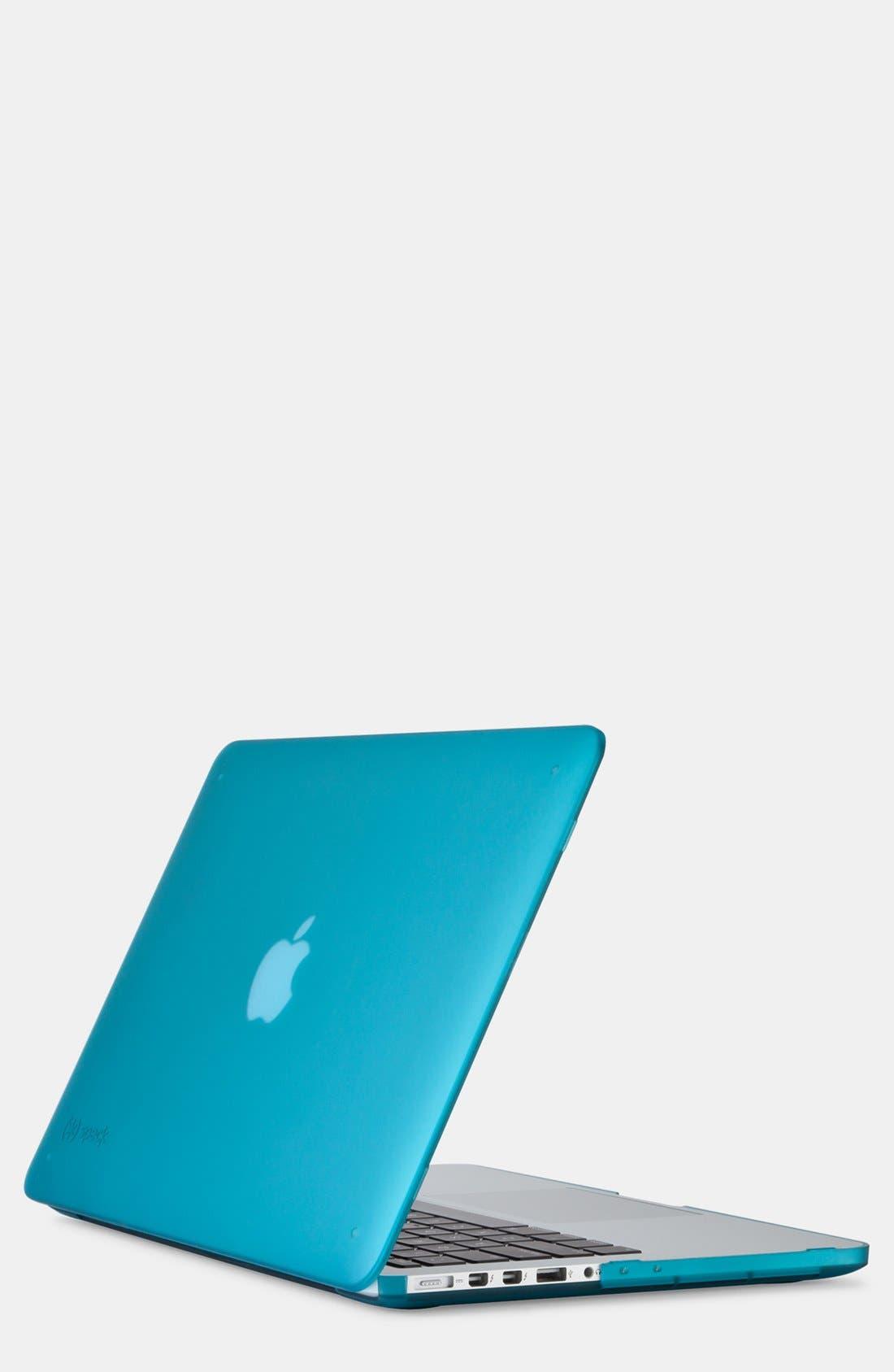 Main Image - Speck 'See Through SATIN' Snap-On MacBook Pro Retina Laptop Case (13 Inch)