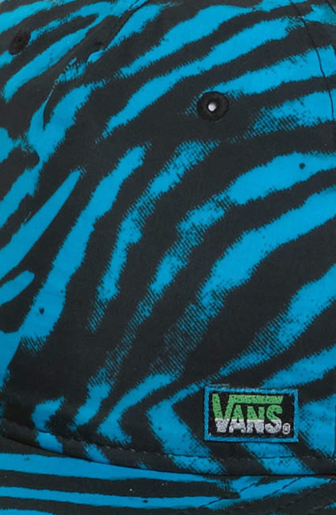 Alternate Image 2  - Vans 'Classics' Print Snapback Cap