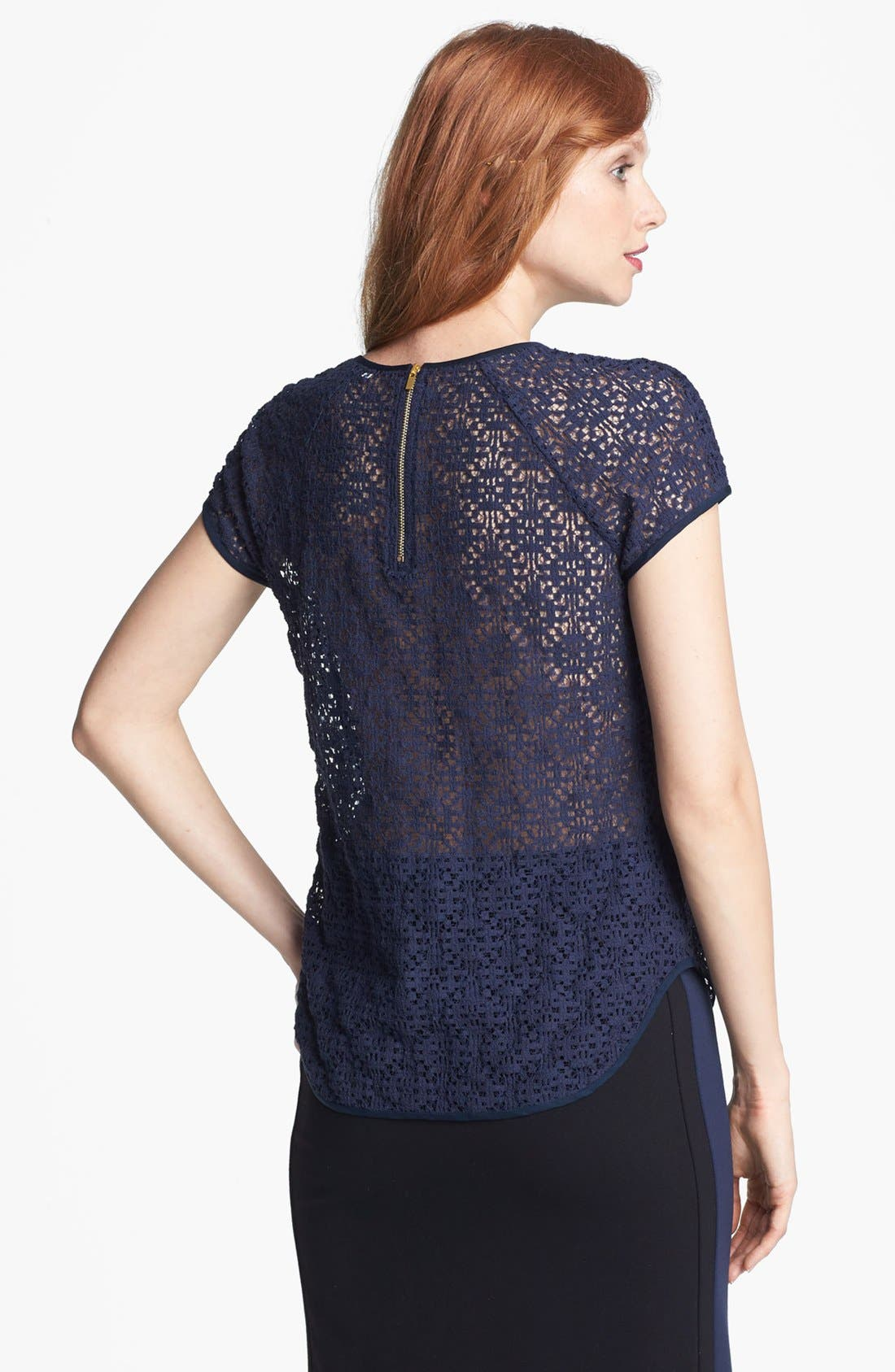 Alternate Image 2  - Diane von Furstenberg 'Liva' Lace Top