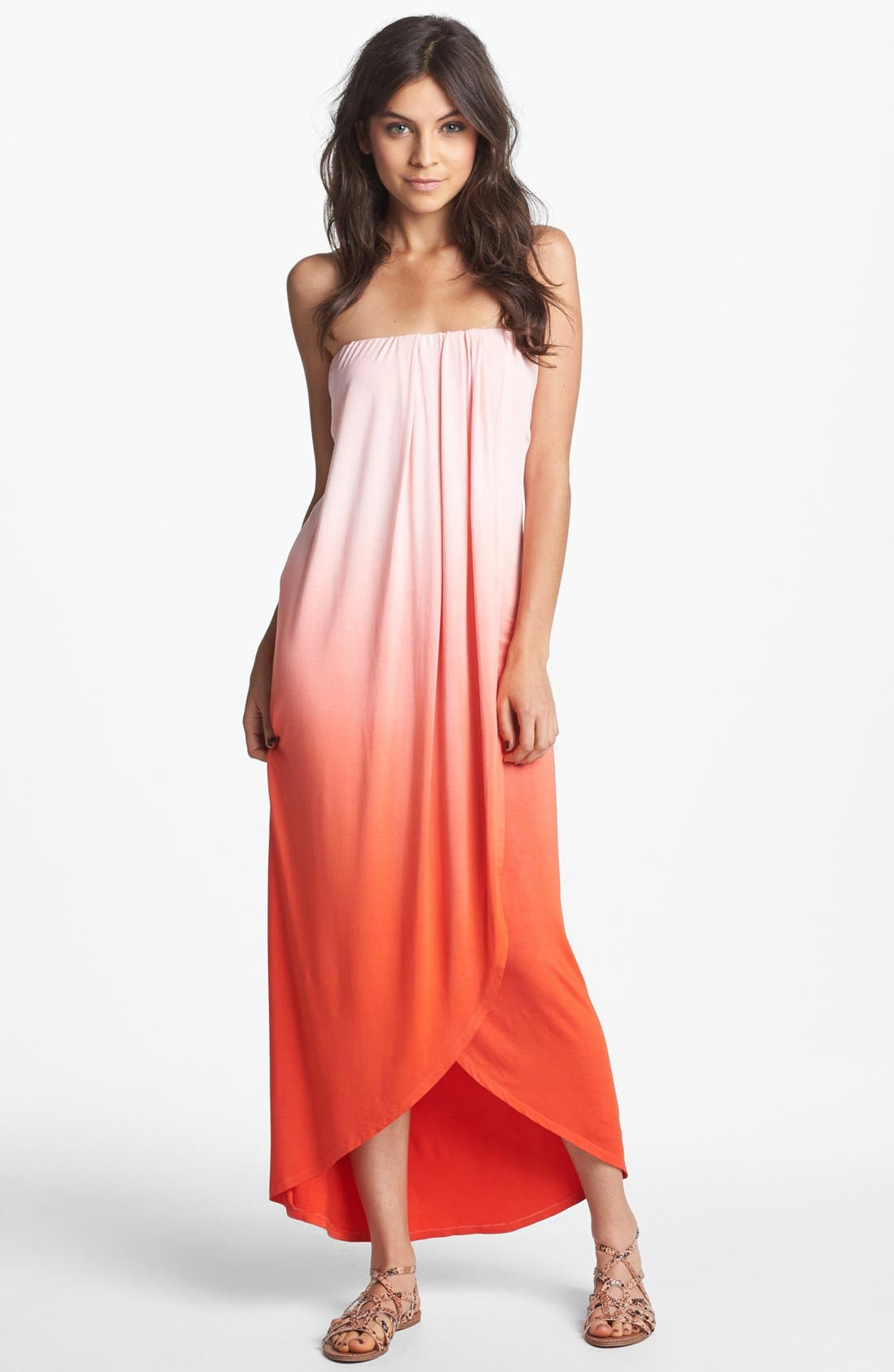 Alternate Image 1 Selected - Young, Fabulous & Broke 'Brooklyn' Ombré Maxi Dress