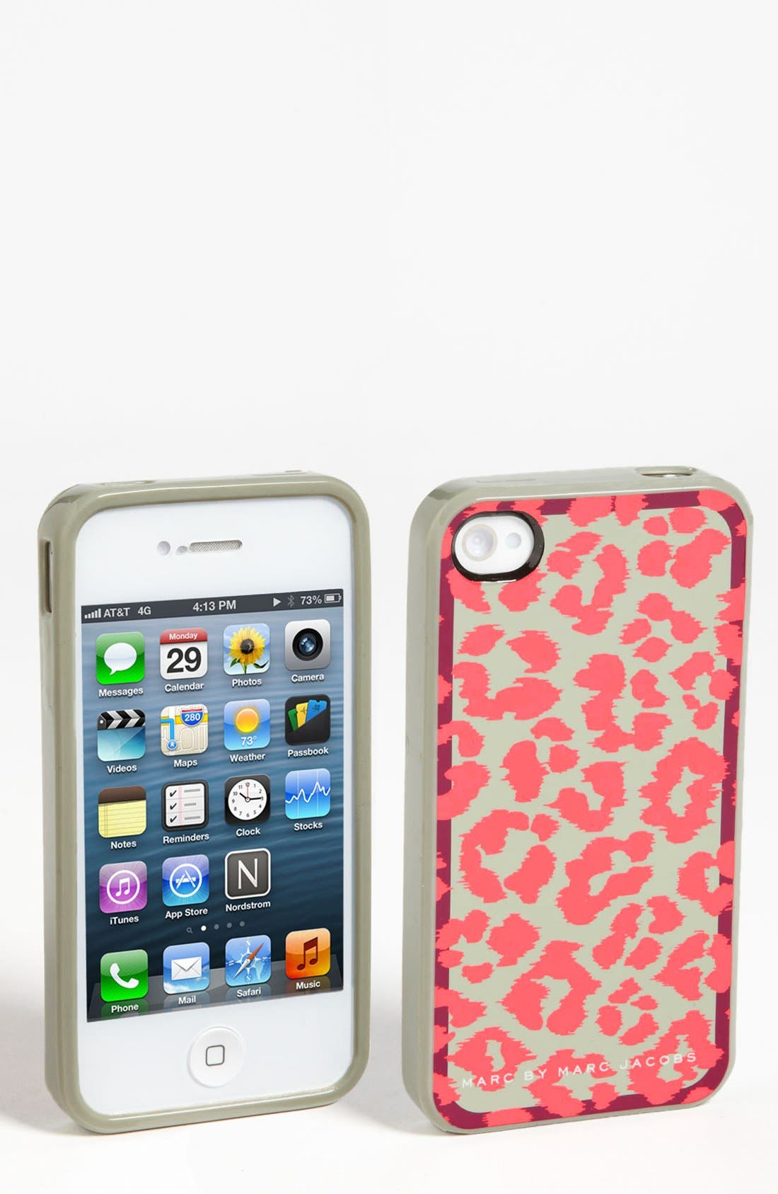 Alternate Image 1 Selected - MARC BY MARC JACOBS 'Rita the Cheetah' iPhone 5 & 5S Case