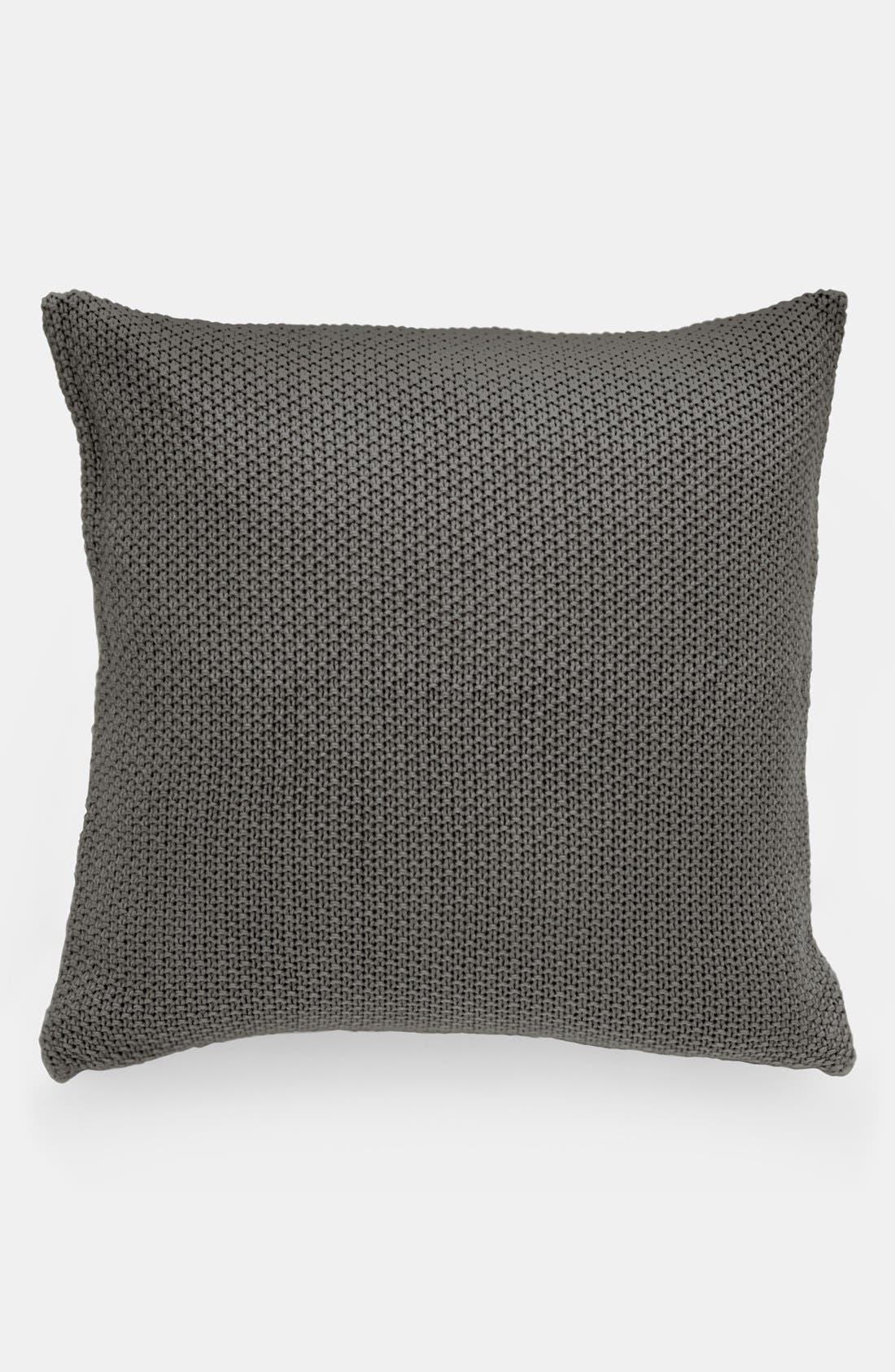 Alternate Image 1 Selected - Donna Karan 'Essentials - Knit' Euro Sham (Online Only)