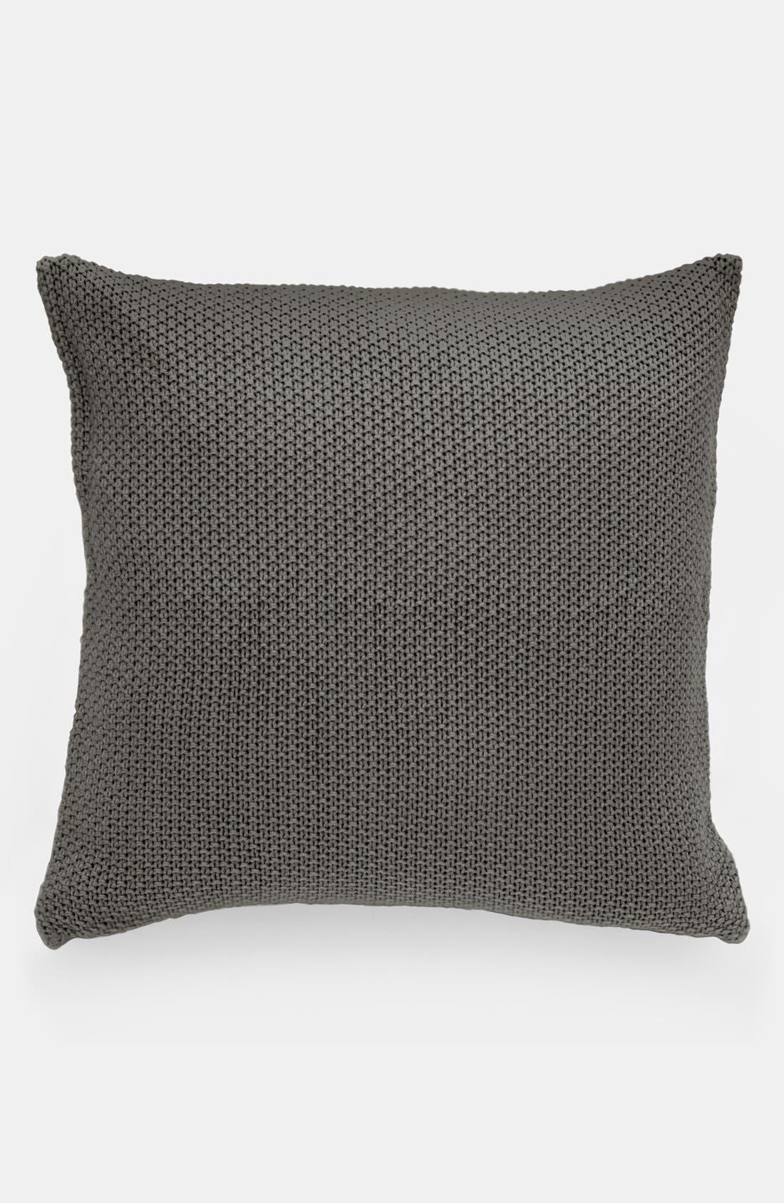 Main Image - Donna Karan 'Essentials - Knit' Euro Sham (Online Only)