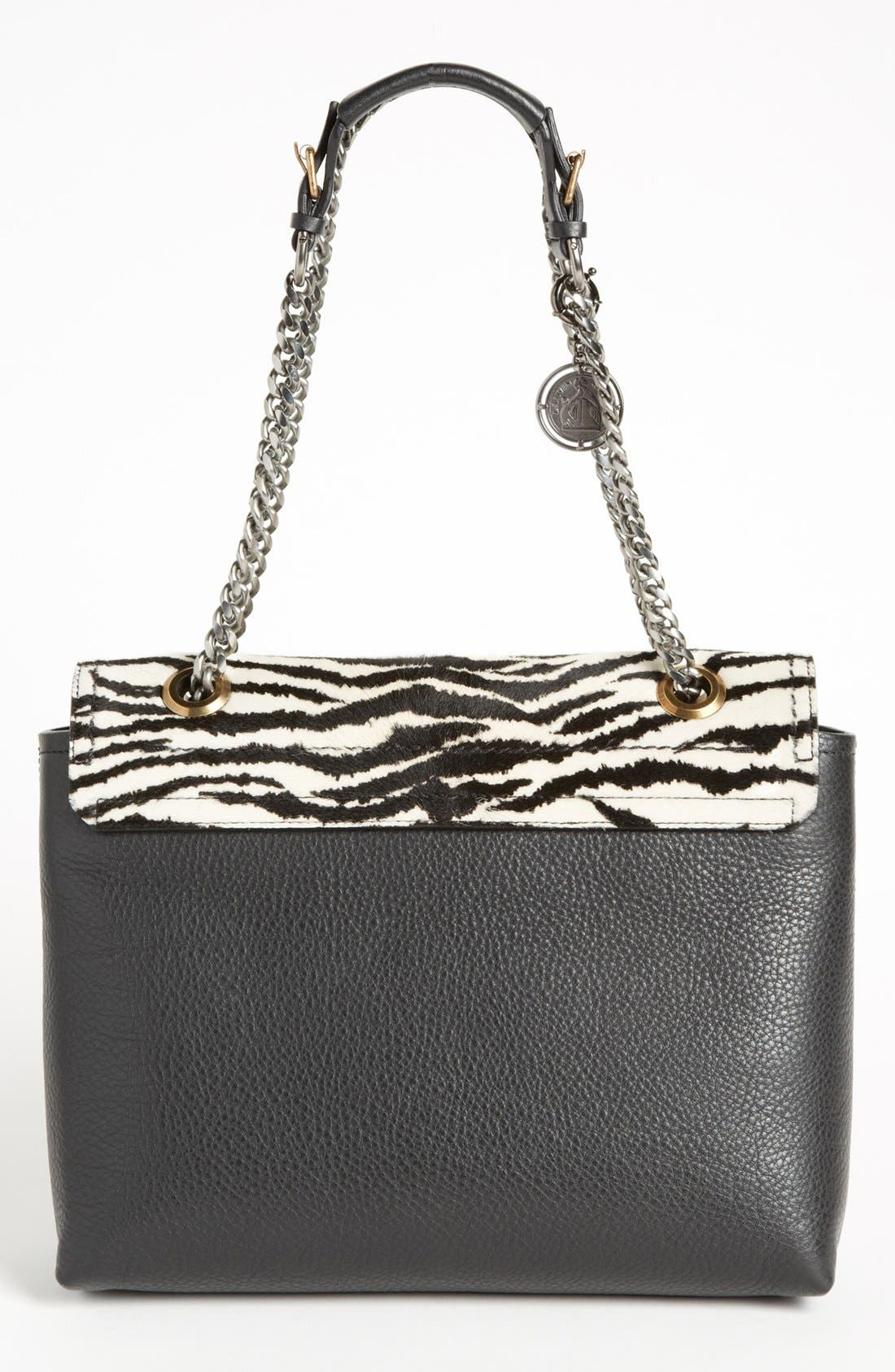 Alternate Image 4  - Lanvin 'Happy Zebra' Calf Hair Flap Shoulder Bag