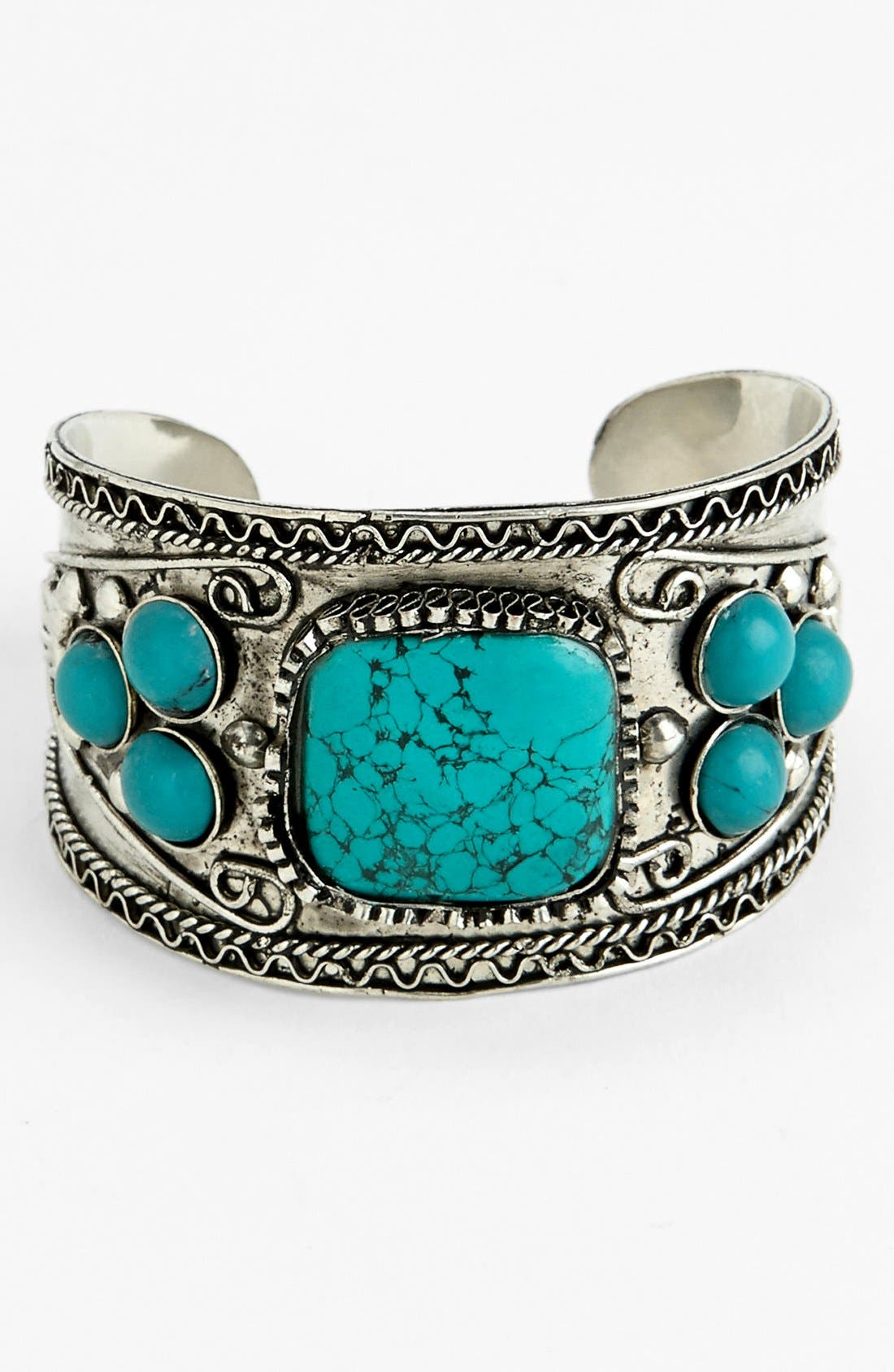 Alternate Image 1 Selected - Stephan & Co. Stone Cuff