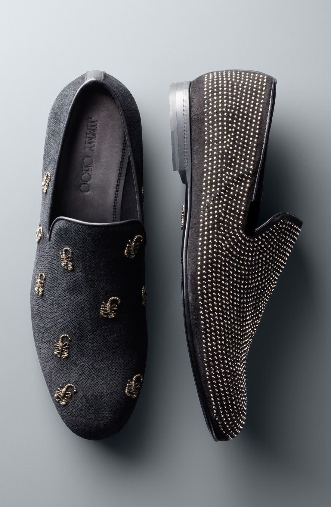 Alternate Image 5  - Jimmy Choo 'Sloane' Scorpion Studded Loafer