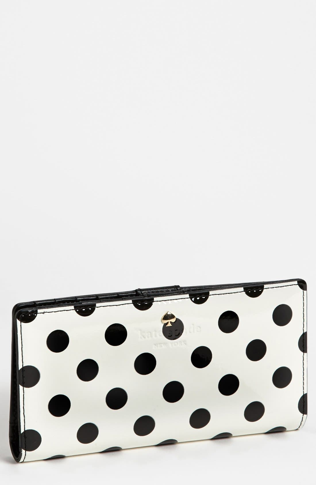 Main Image - kate spade new york 'carlisle street - stacy' wallet