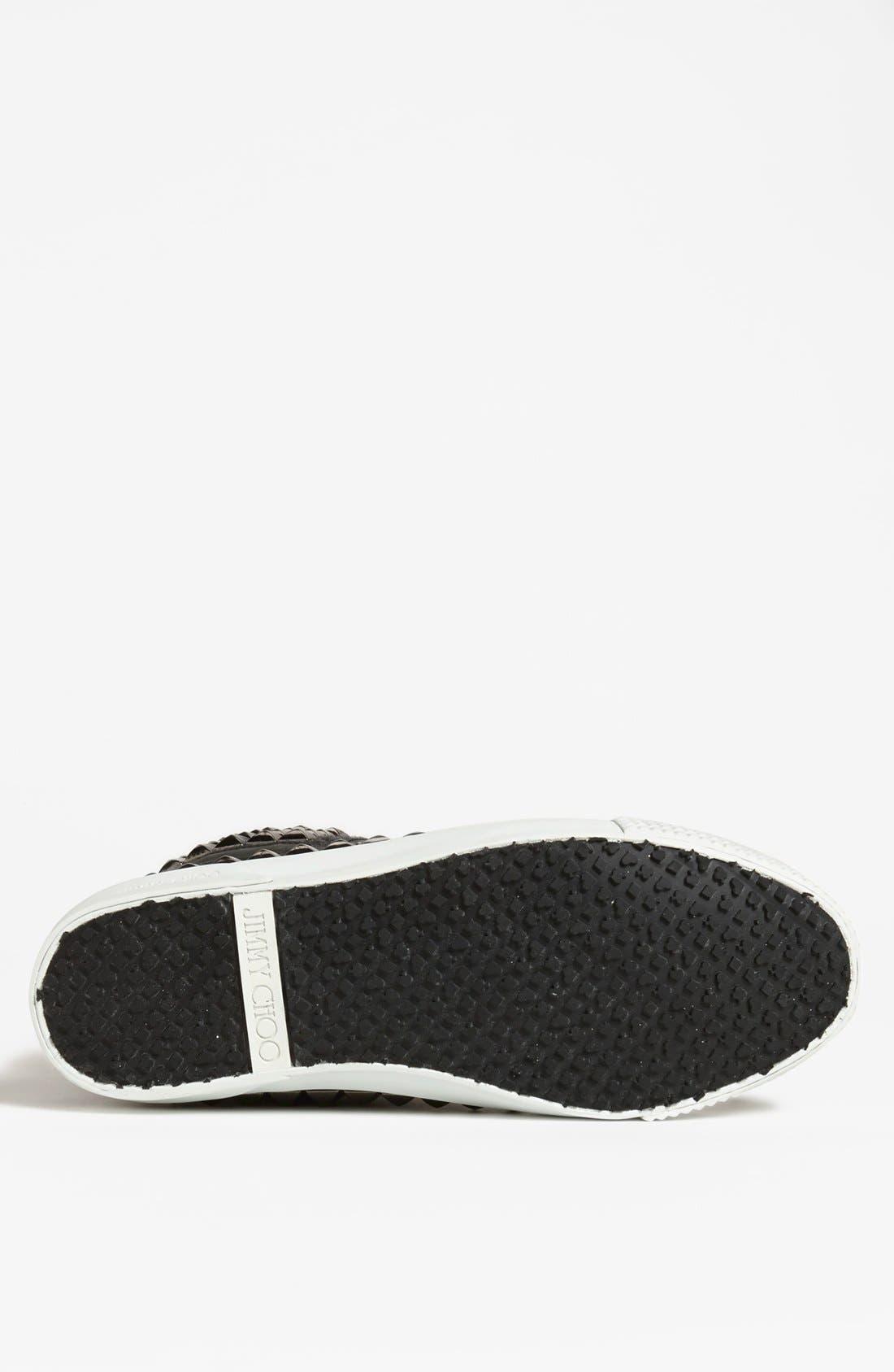 Alternate Image 4  - Jimmy Choo 'Spencer' Studded Sneaker