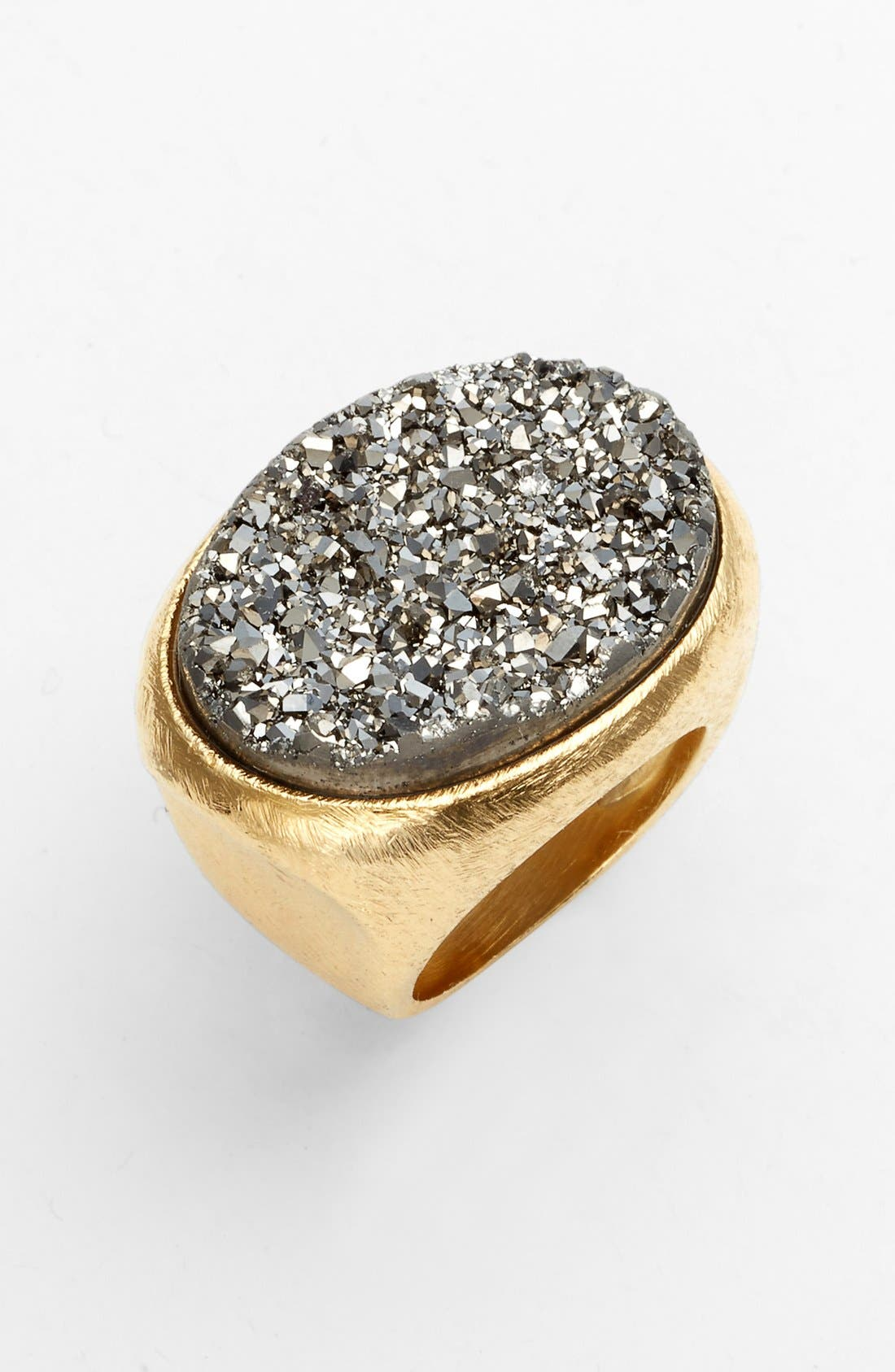 Main Image - Marcia Moran 'Drusy Extravaganza' Oval Ring (Online Only)