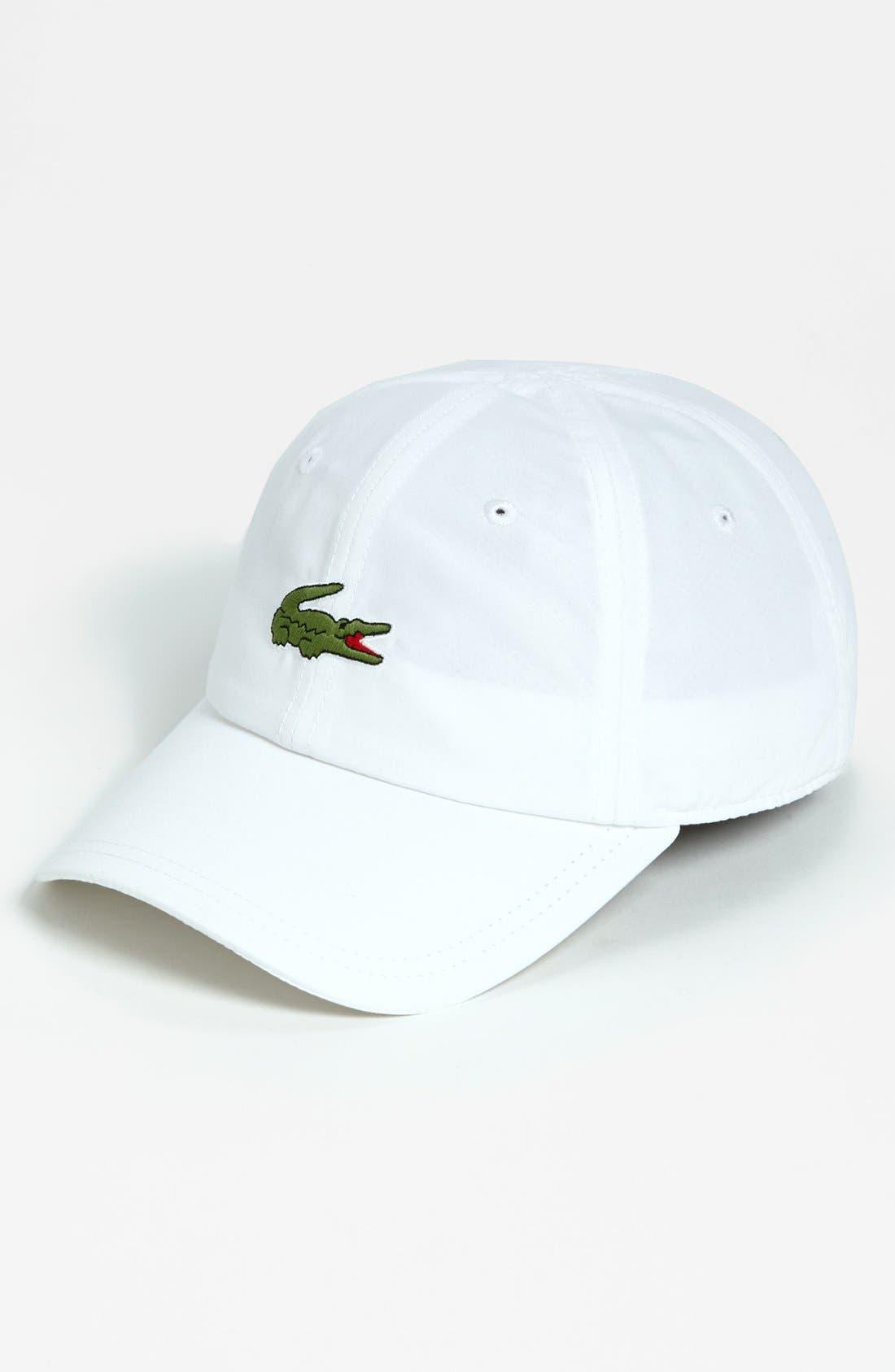 Alternate Image 1 Selected - Lacoste 5cm 'Croc' Cap