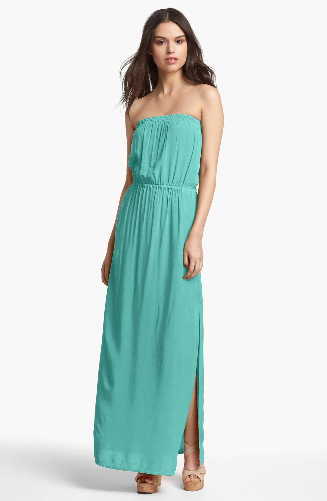 Alternate Image 1 Selected - Splendid Strapless Maxi Dress