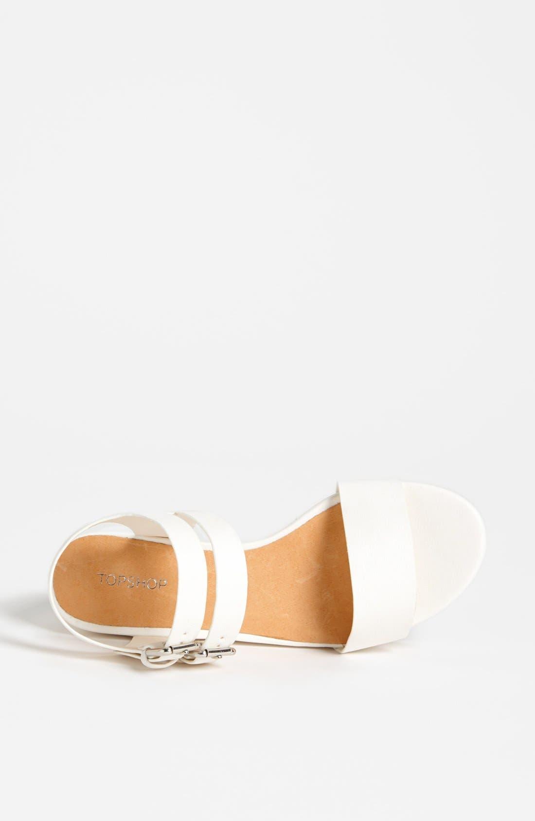 Alternate Image 3  - Topshop 'Hanna' Sandal