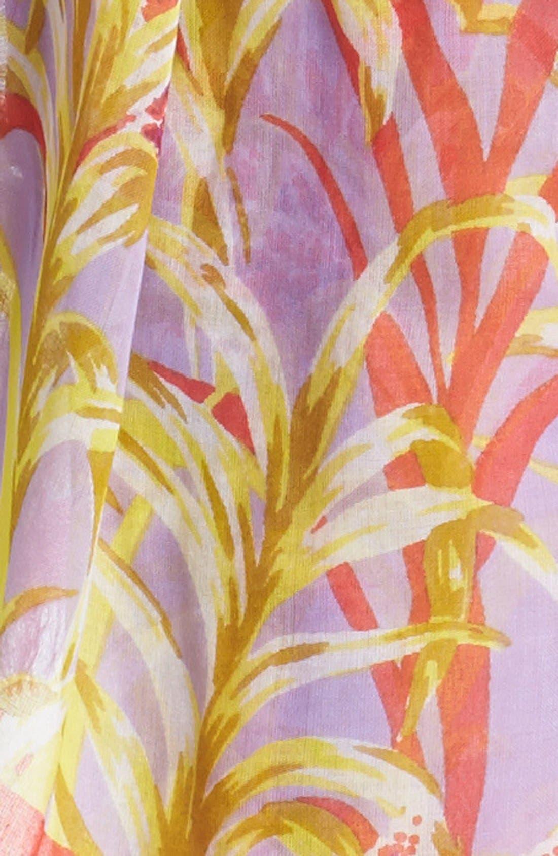 Alternate Image 2  - kate spade new york 'ginger floral' scarf
