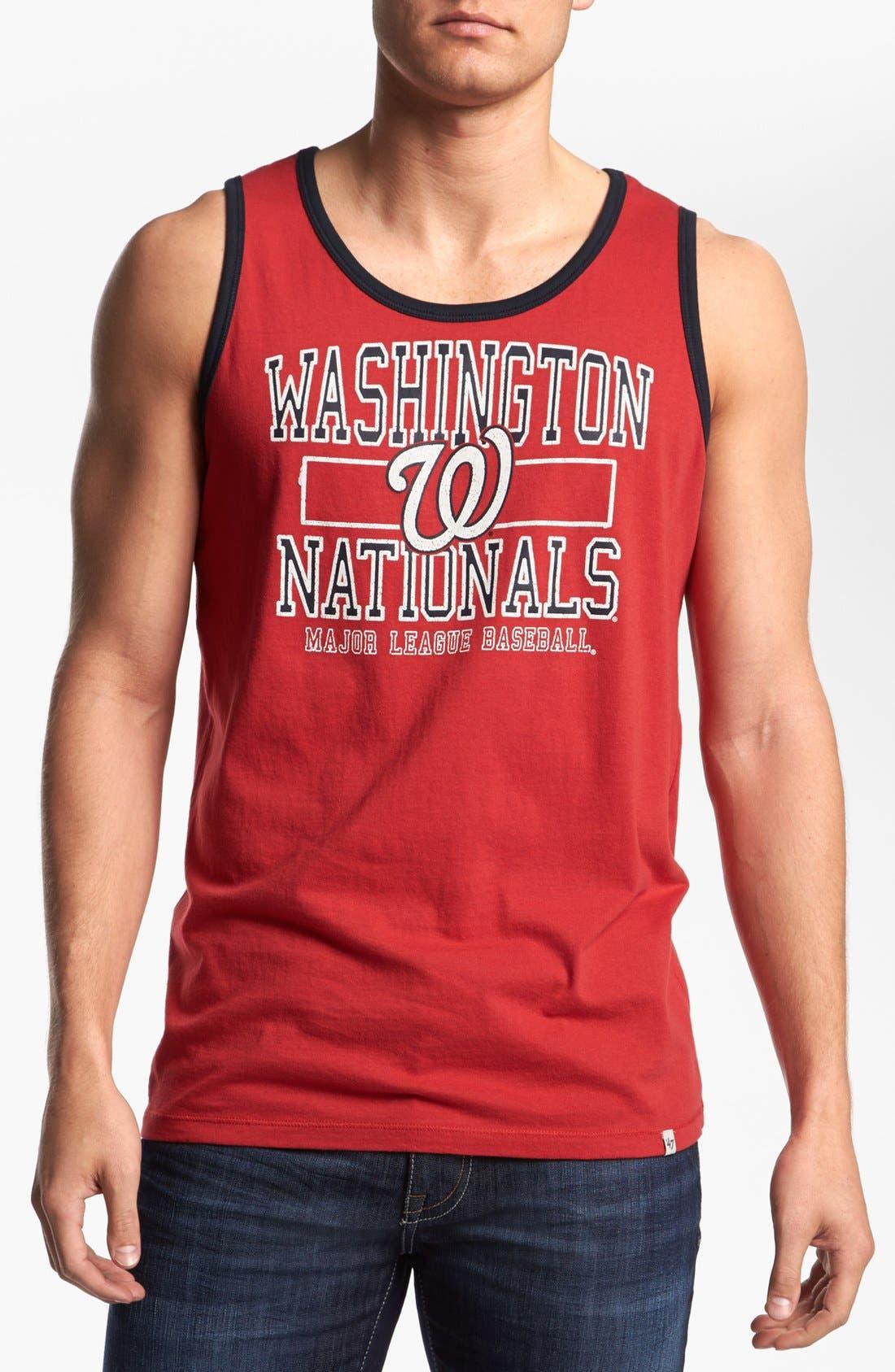 Alternate Image 1 Selected - 47 Brand 'Nationals - Tilldown' Tank Top