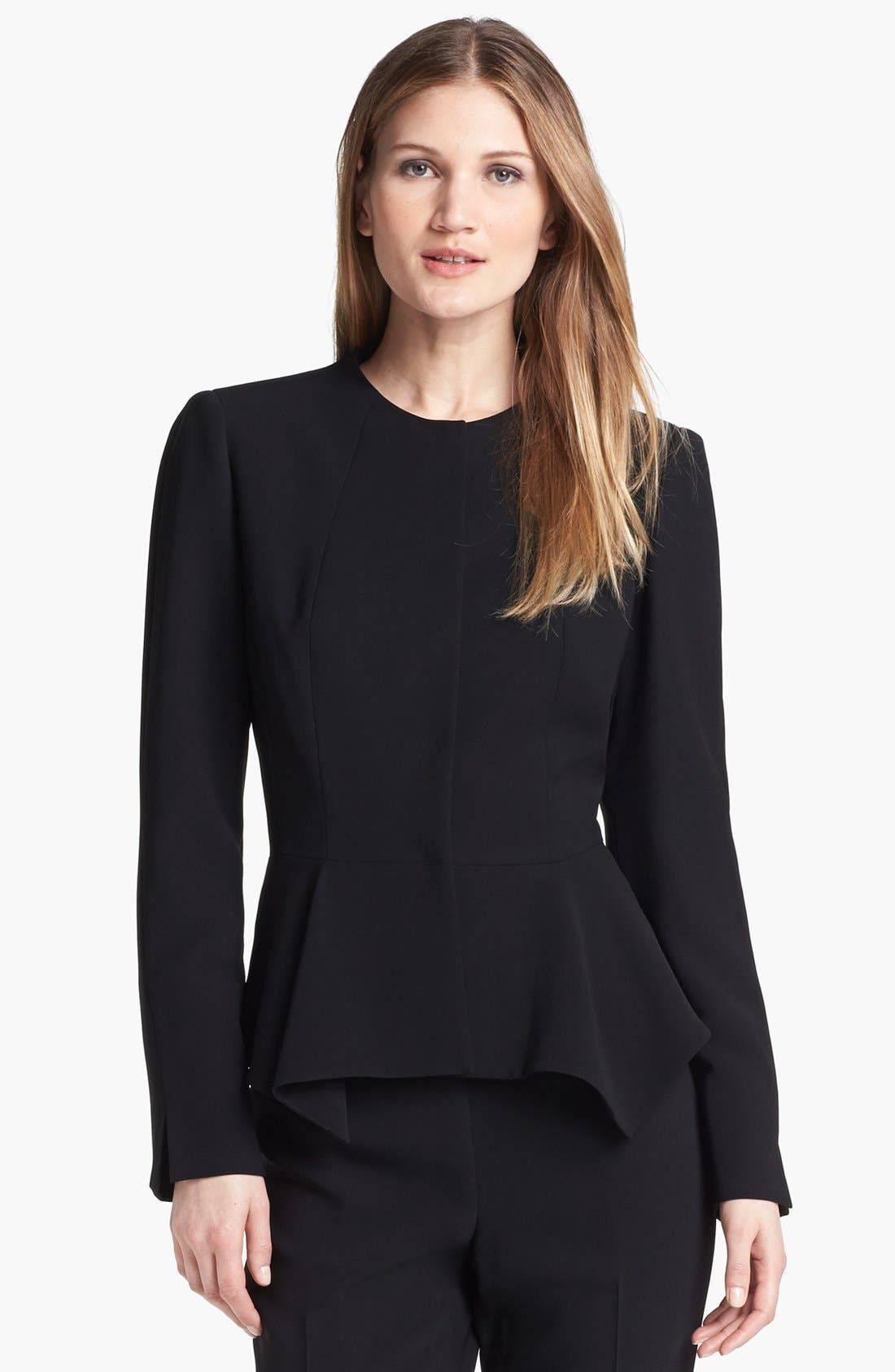 Alternate Image 1 Selected - Lafayette 148 New York 'Lissette - Finesse Crepe' Jacket