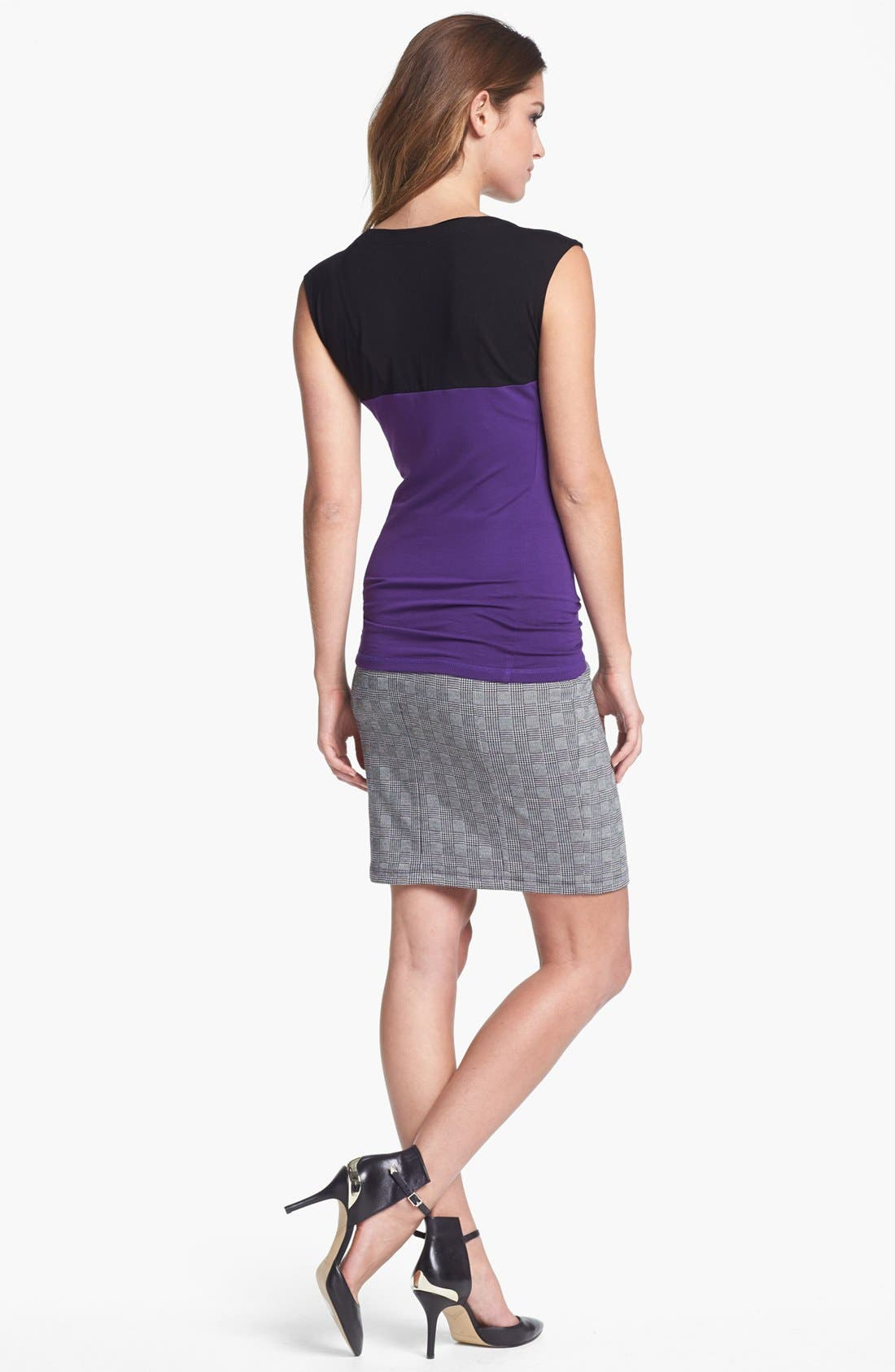 Alternate Image 4  - Vince Camuto Colorblock Tee (Nordstrom Exclusive)