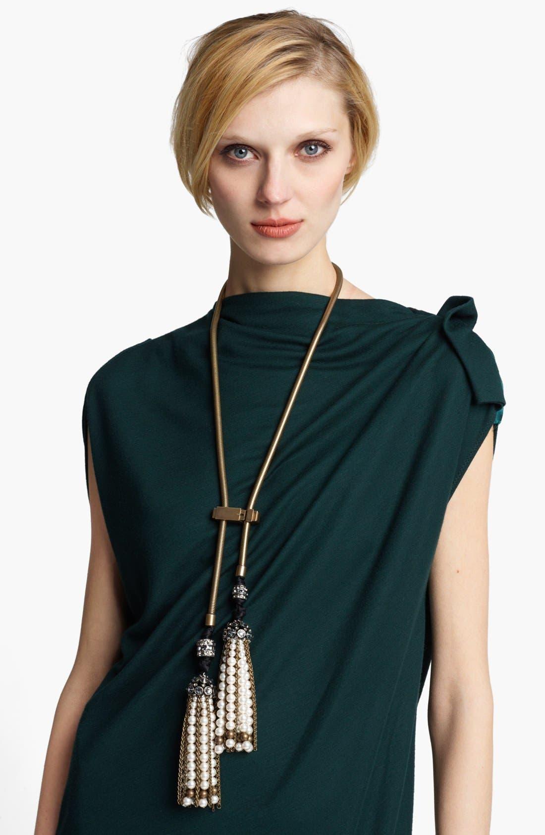 Main Image - Lanvin 'Metropolis' Lariat Necklace