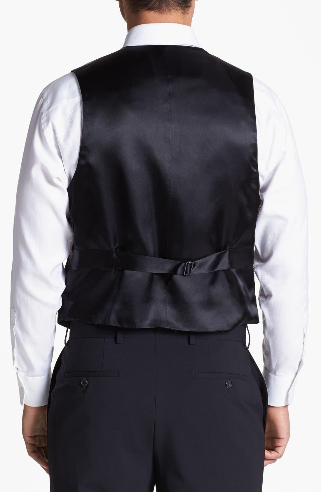 Alternate Image 3  - David Donahue Paisley Vest