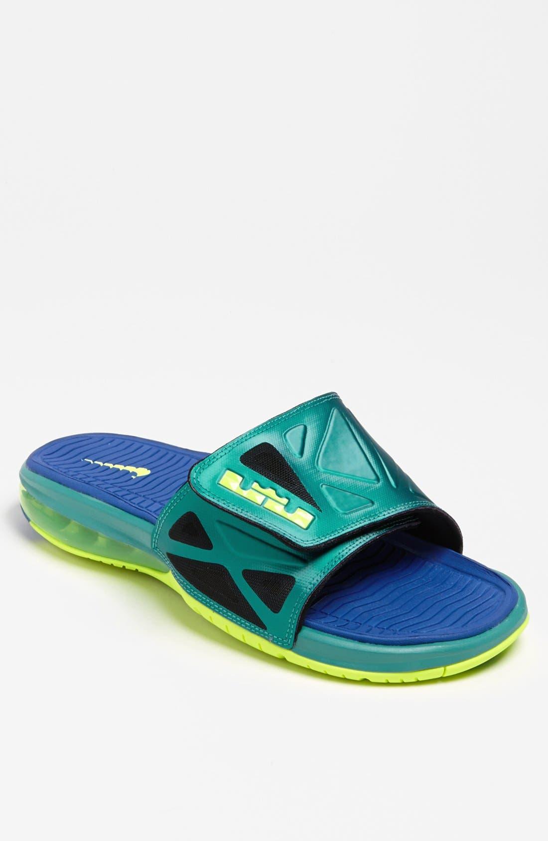 Alternate Image 1 Selected - Nike 'Air LeBron 2 Slide Elite' Sandal (Men)