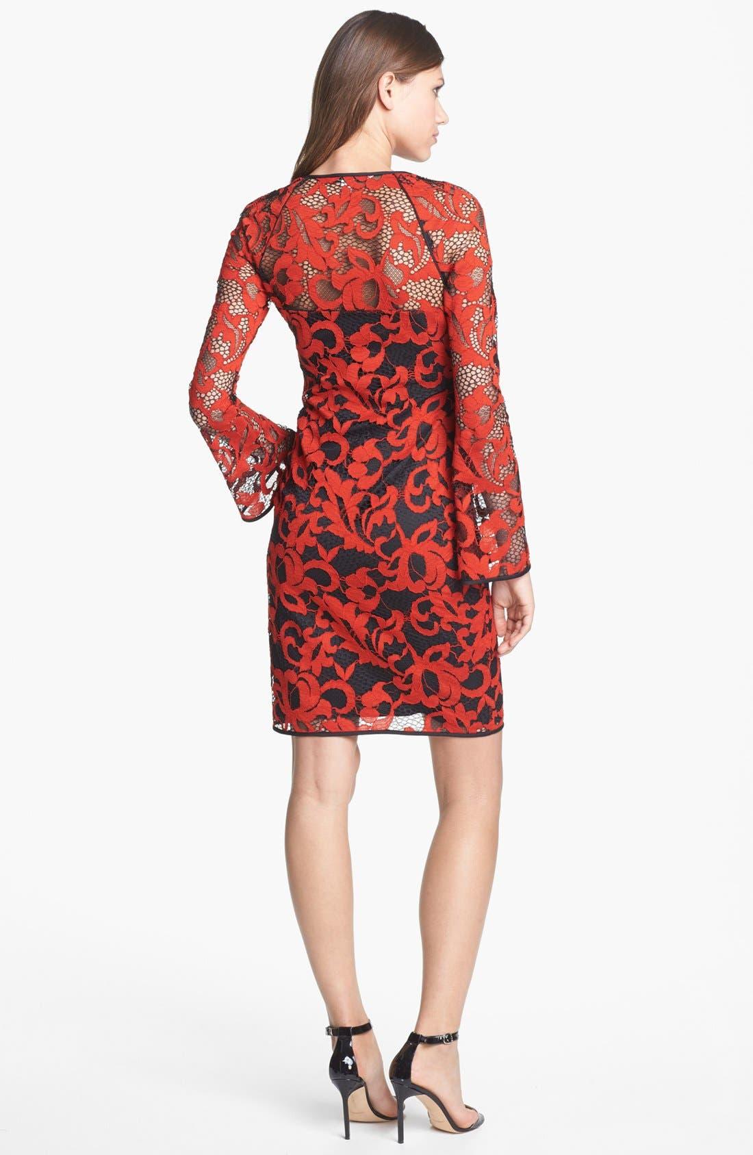 Alternate Image 2  - Diane von Furstenberg 'Gadie' Lace Shift Dress