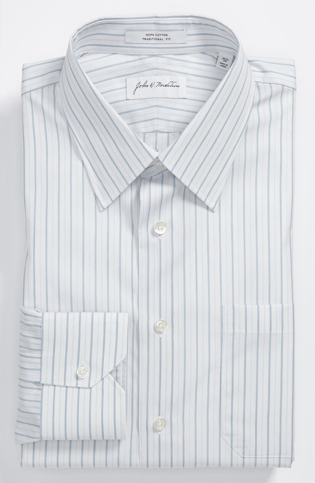Main Image - John W. Nordstrom® Traditional Fit Dress Shirt