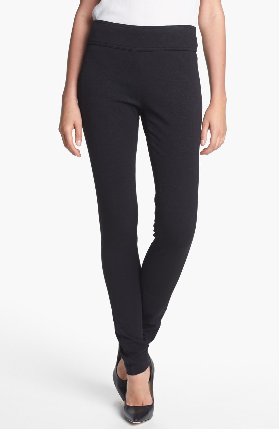 Alternate Image 1 Selected - Diane von Furstenberg 'Lendra' Seamed Knit Leggings