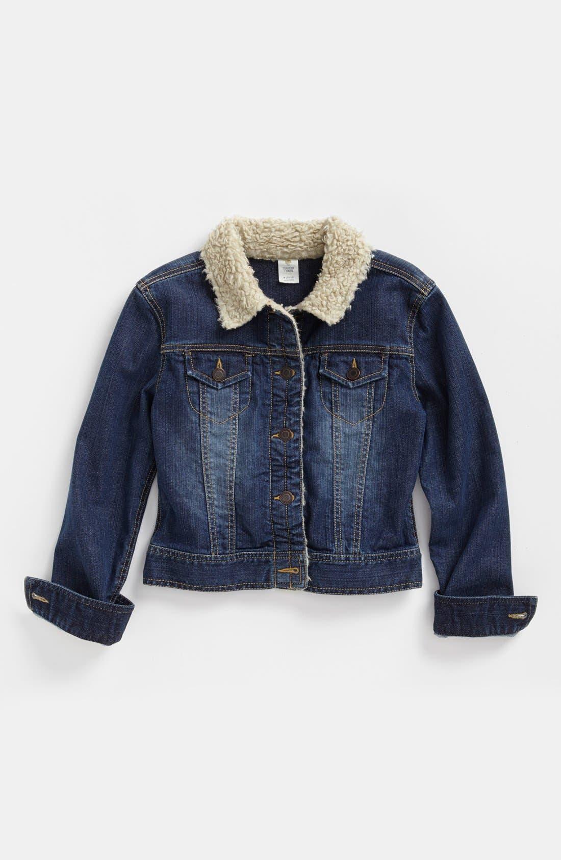 Main Image - Tucker + Tate Denim Jacket (Little Girls & Big Girls)