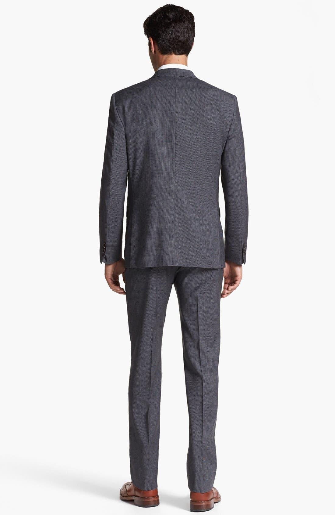 Alternate Image 5  - John Varvatos Star USA 'Townshend' Trim Fit Check Sportcoat