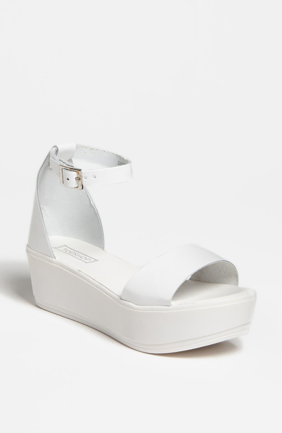 Alternate Image 1 Selected - Topshop 'Wills' Sandal