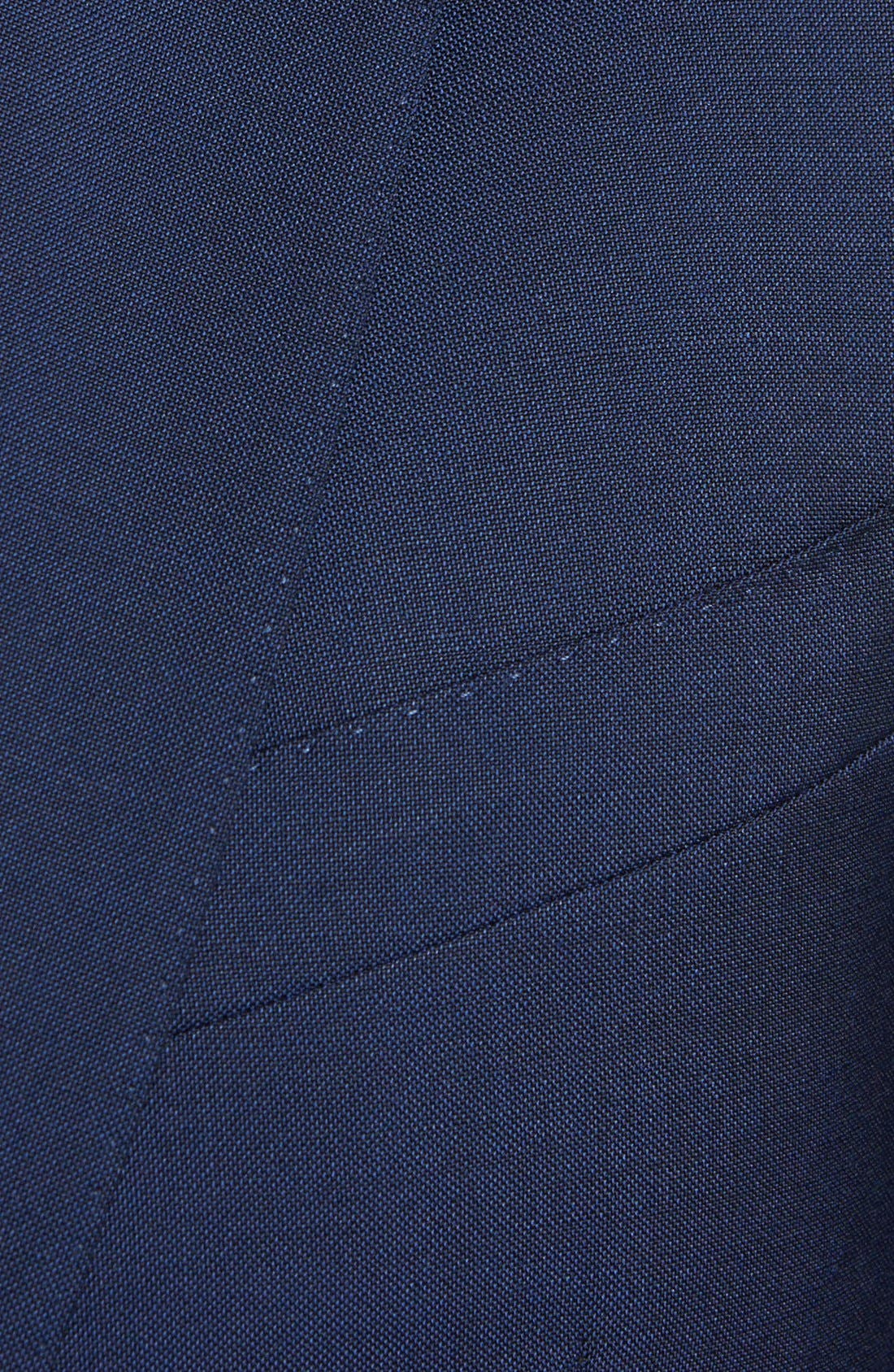 Alternate Image 3  - Burberry London Trim Fit Wool Blazer