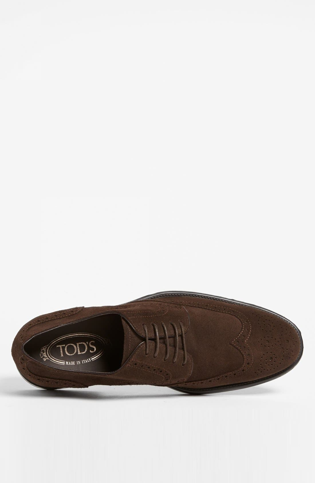 Alternate Image 3  - Tod's 'Derby' Suede Wingtip