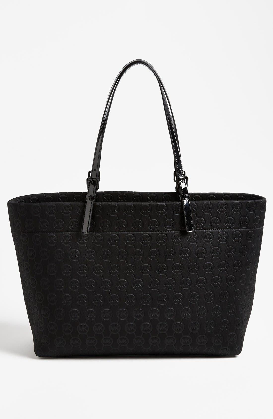Alternate Image 4  - MICHAEL Michael Kors Neoprene Tote, Large