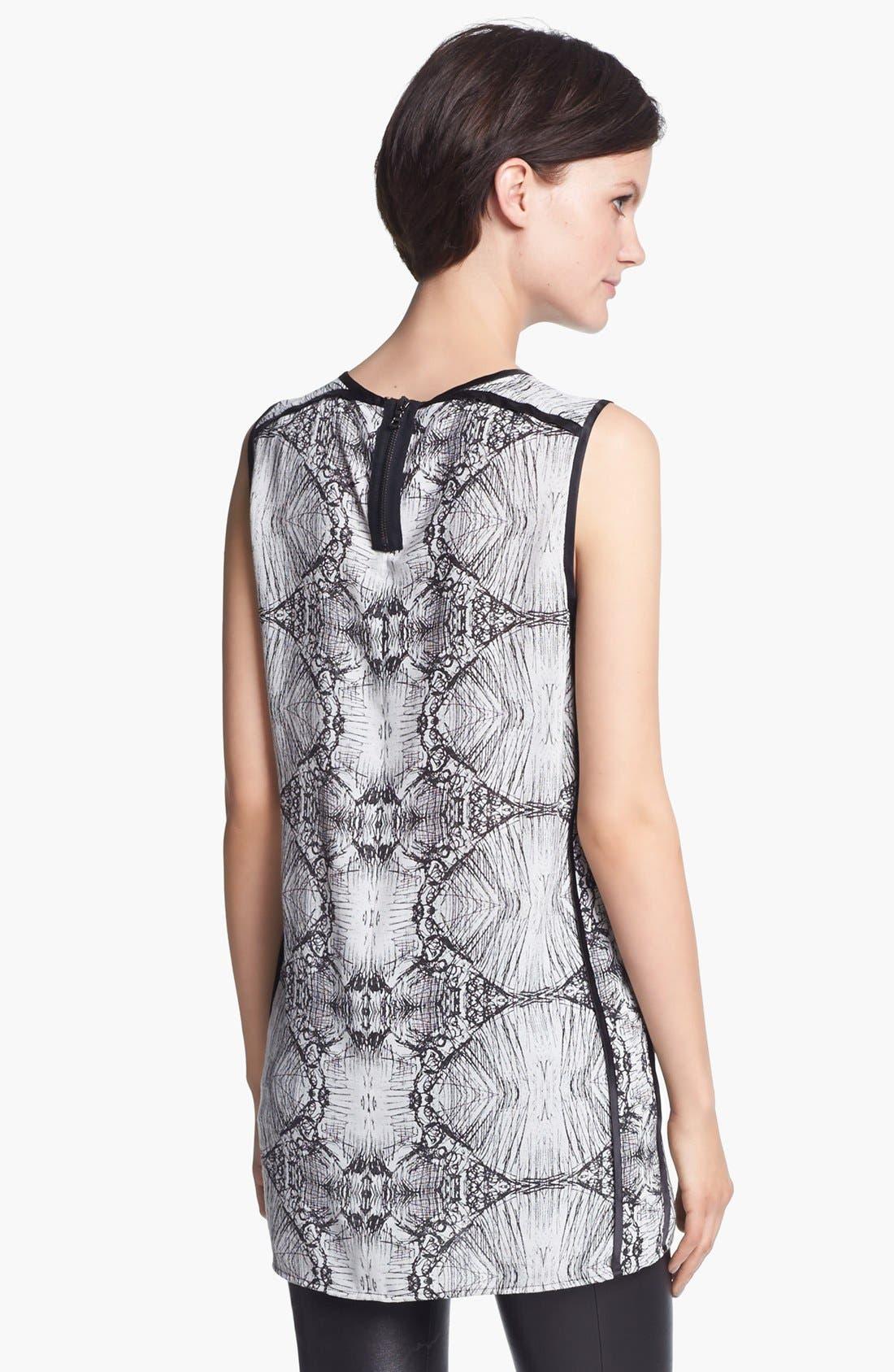 Alternate Image 2  - J Brand Ready-to-Wear 'Ranjini' Sketch Print Tunic